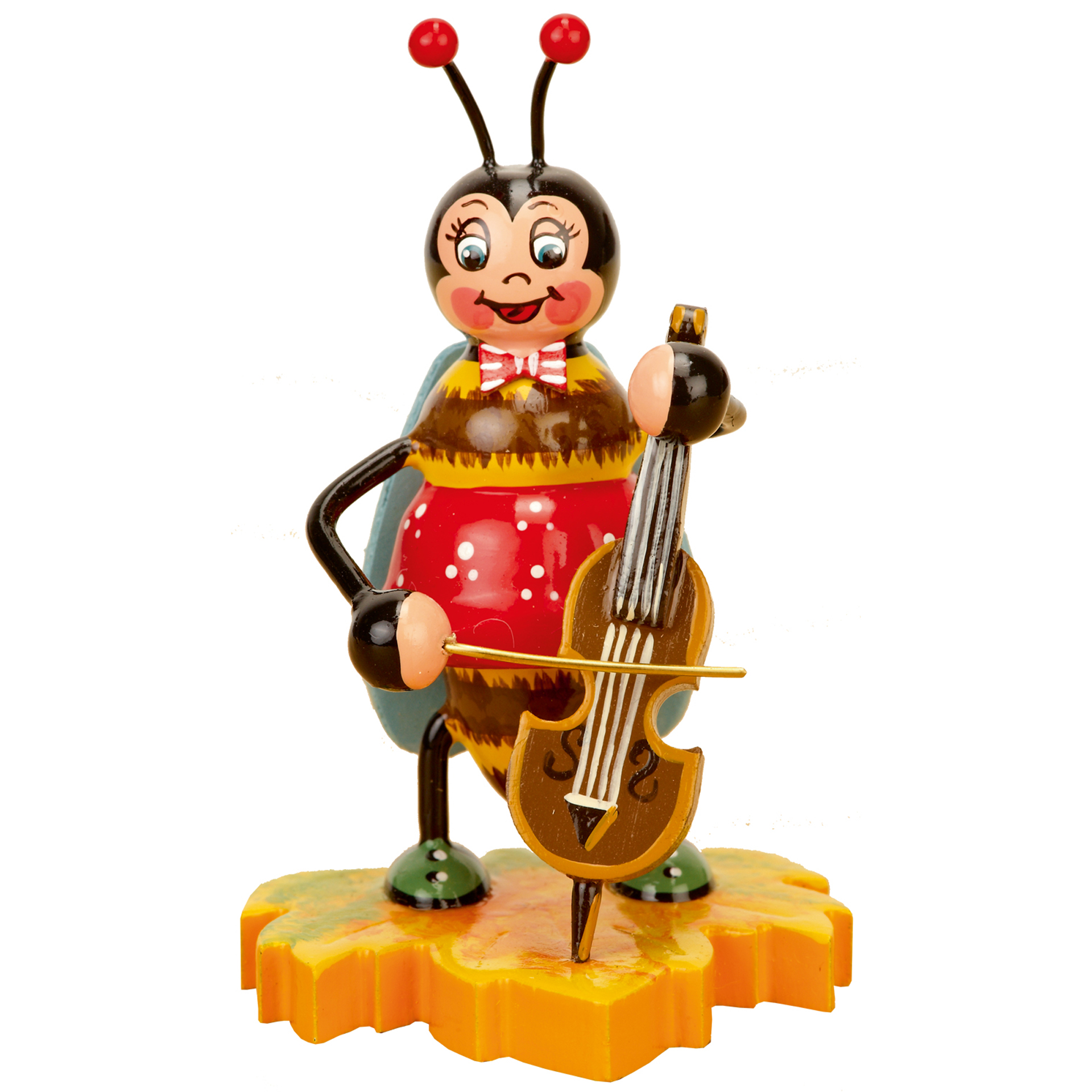 Hummel mit Cello