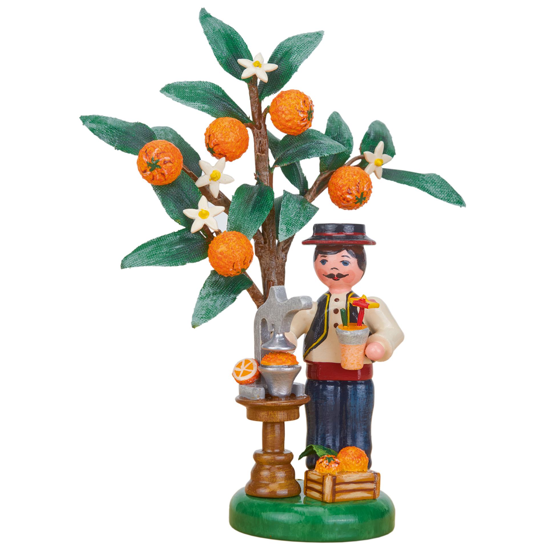 Jahresfigur 2021 Orange