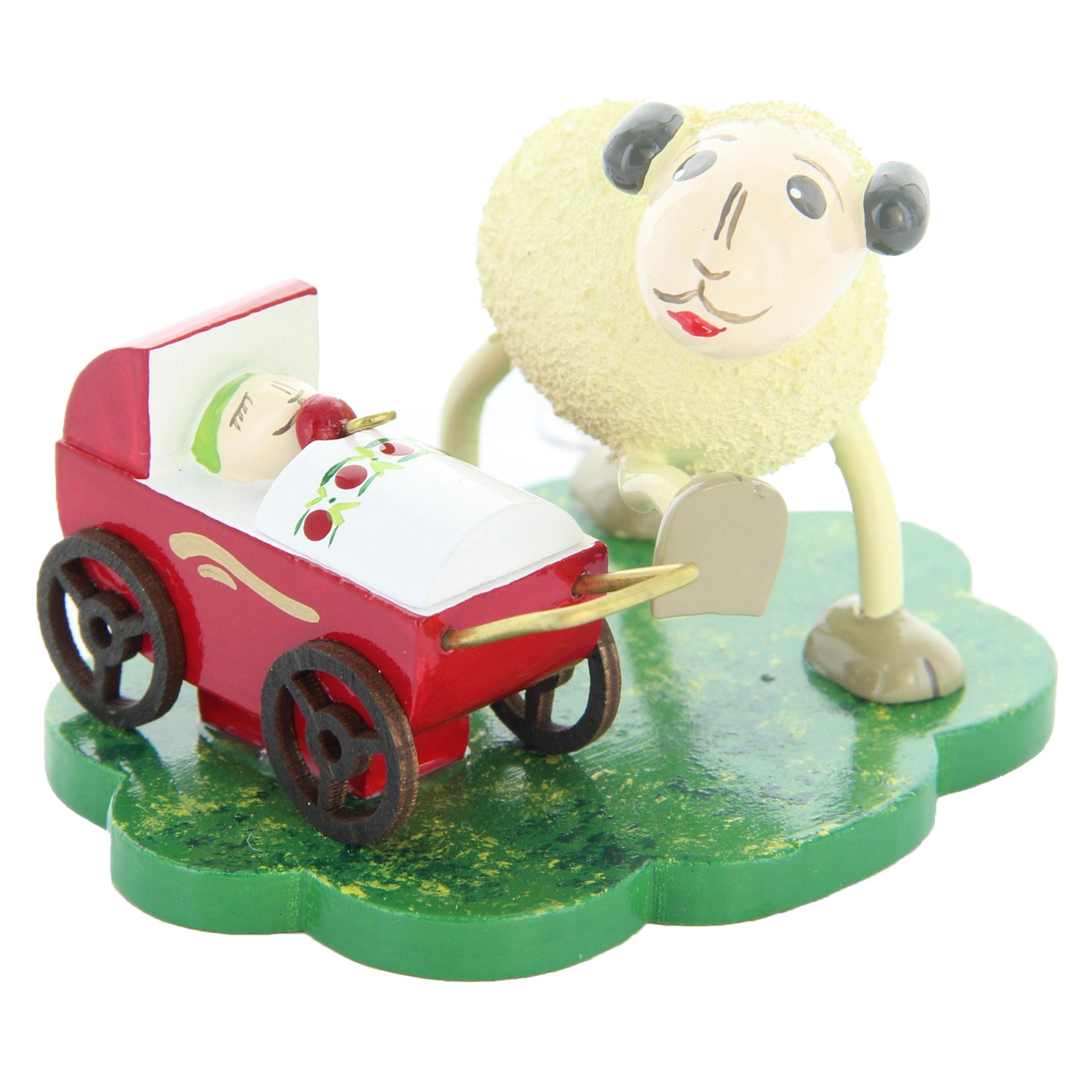 Schafe Mutti mit Schnucki