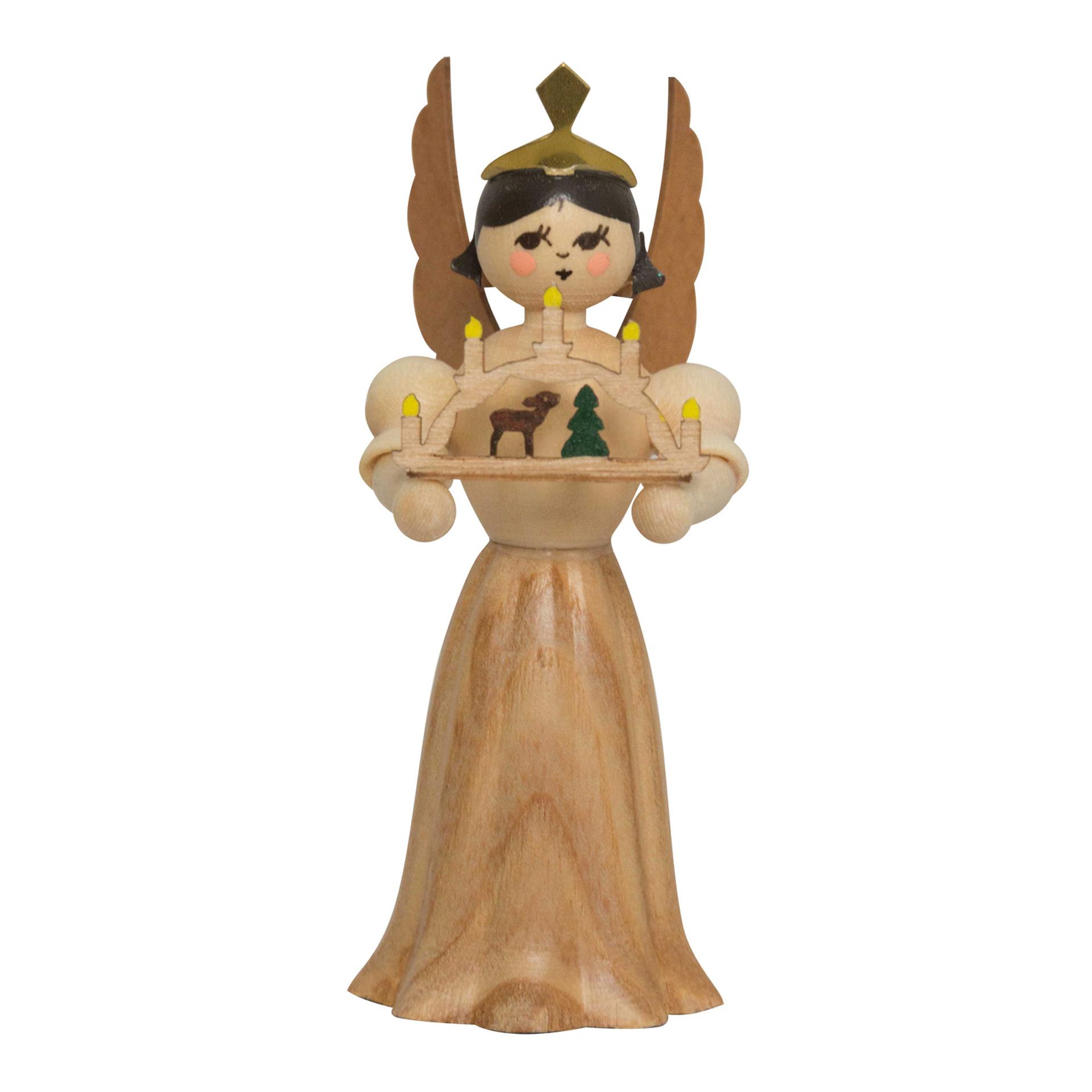 Engel mit Schwibbogen, 7cm