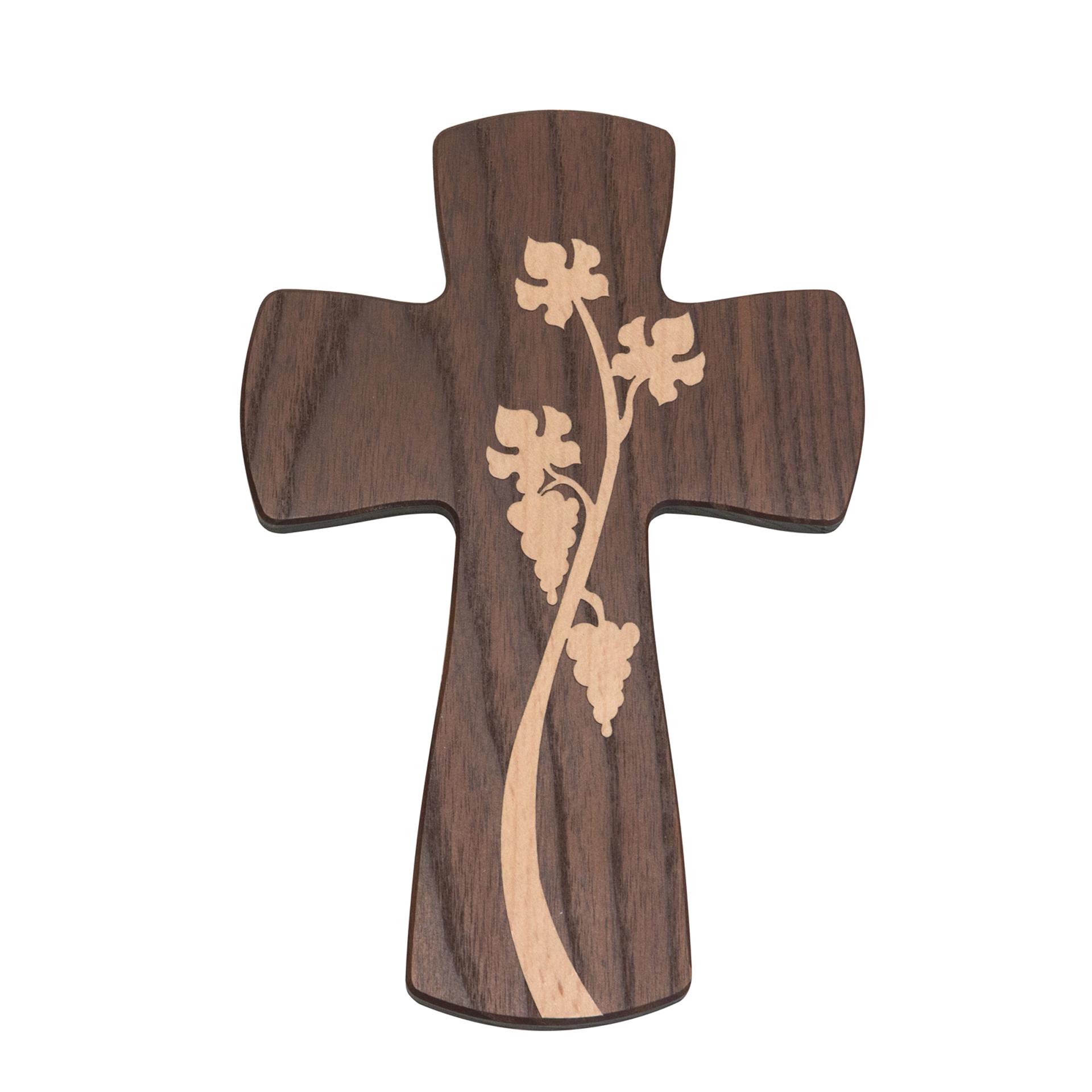 Kreuz mit Weinrebe, Thermoesche