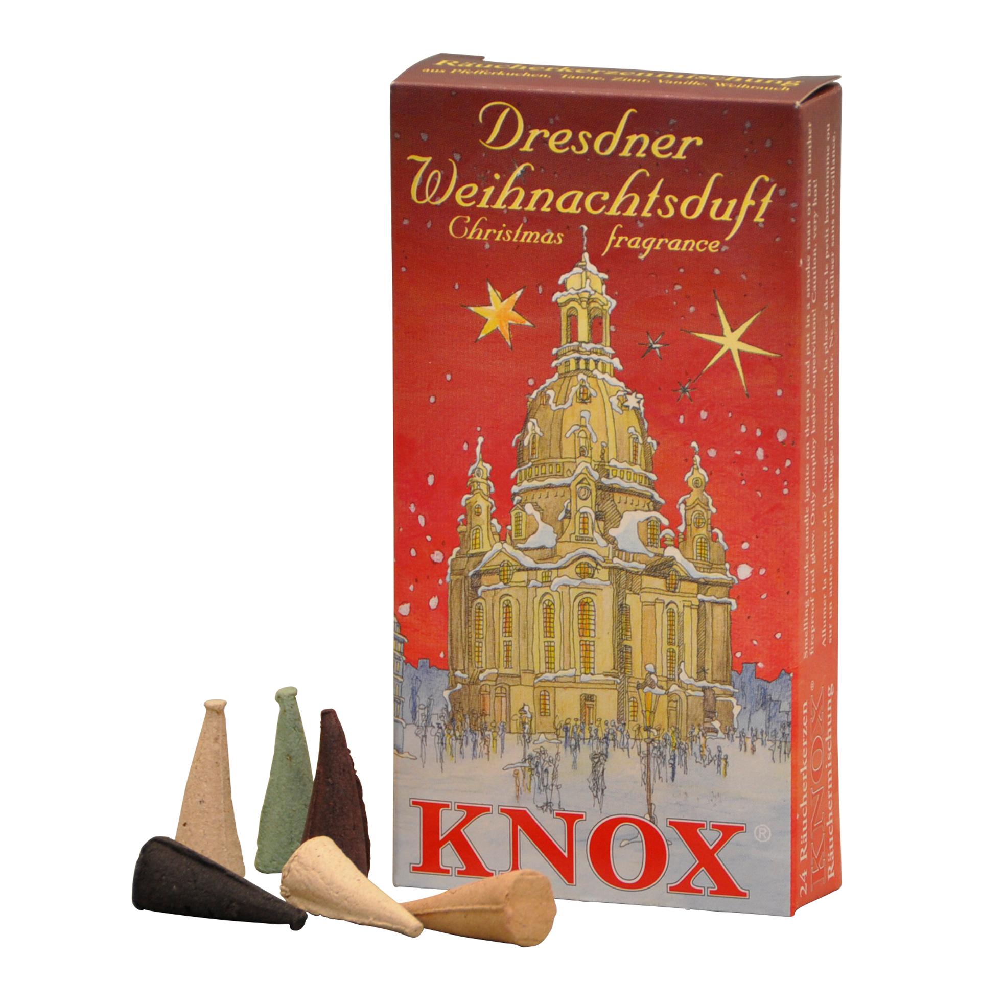 KNox Räucherkerzen Dresdener Weihnachtsmischung