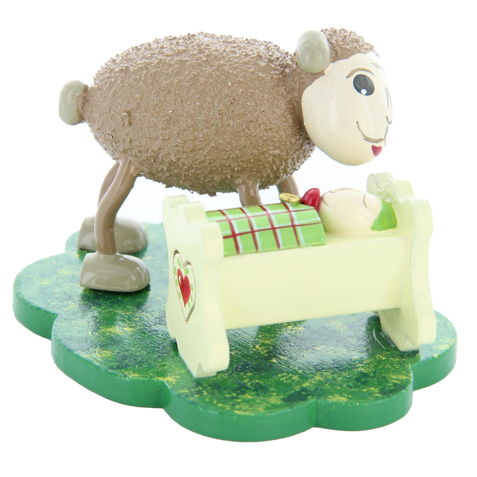 Schafe Vati mit Mini