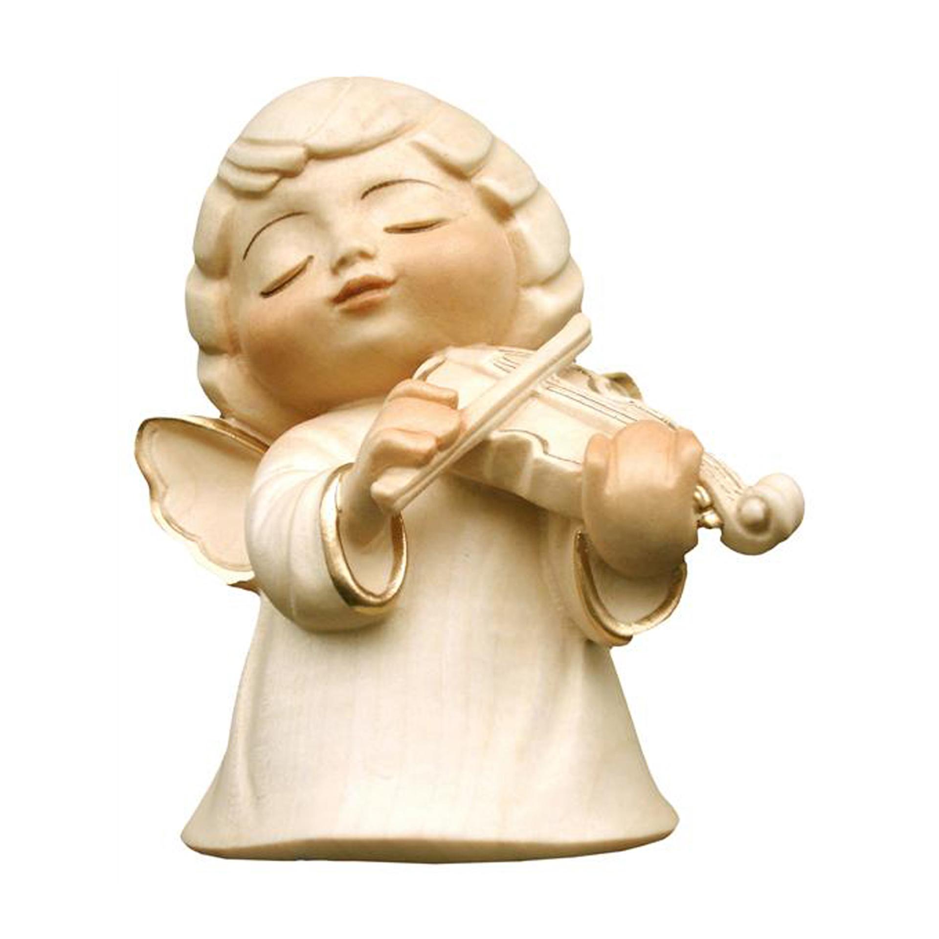 Engel mit Violine, alabaster
