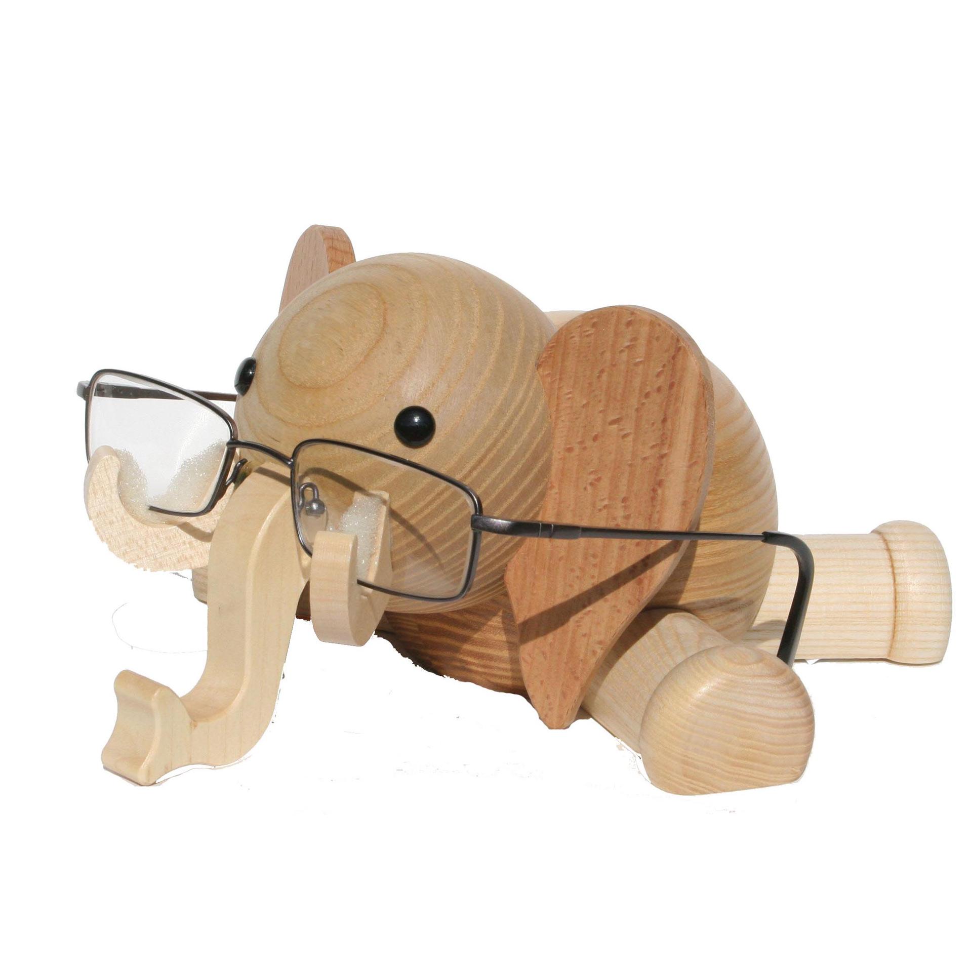 Brillenständer Elefant