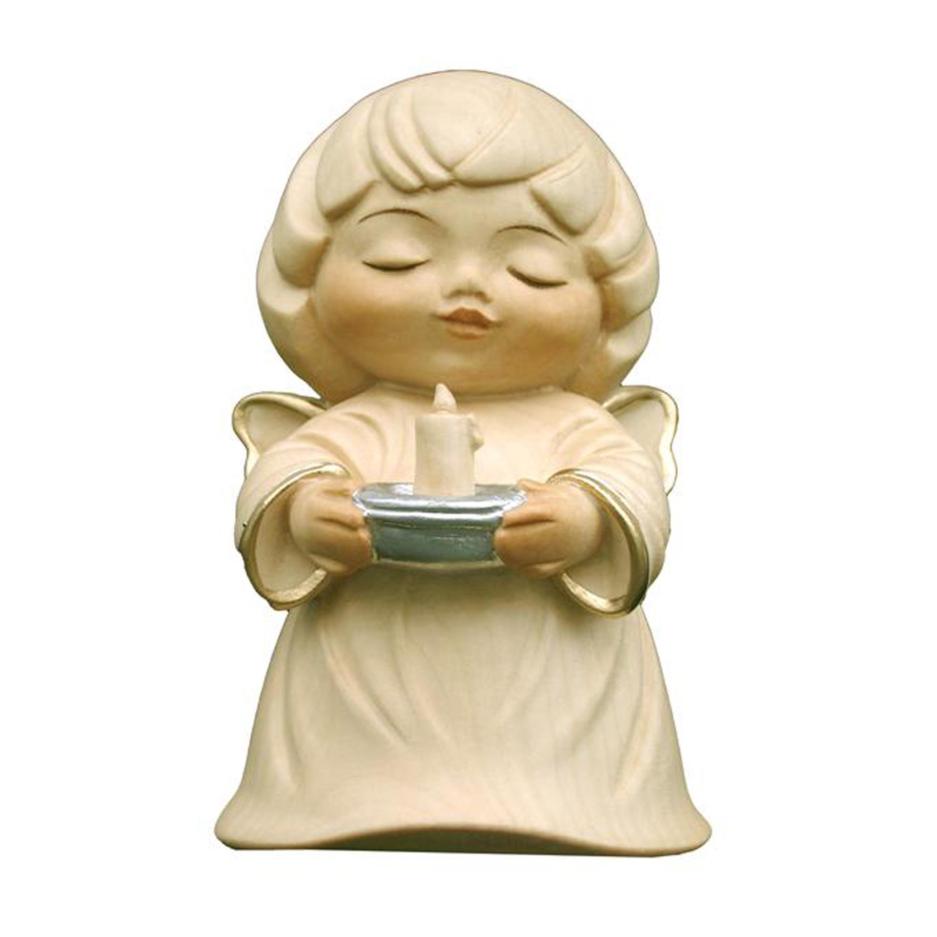 Engel mit Kerze, alabaster