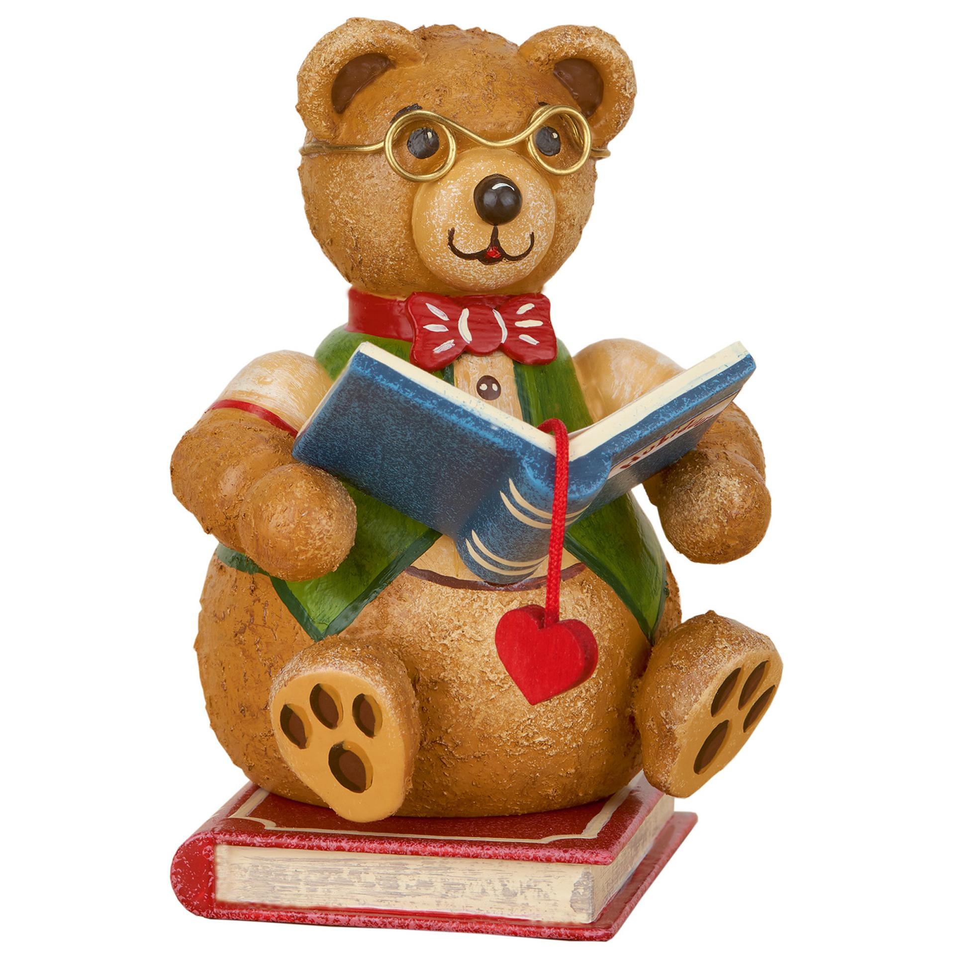 Teddy Bücherwurm