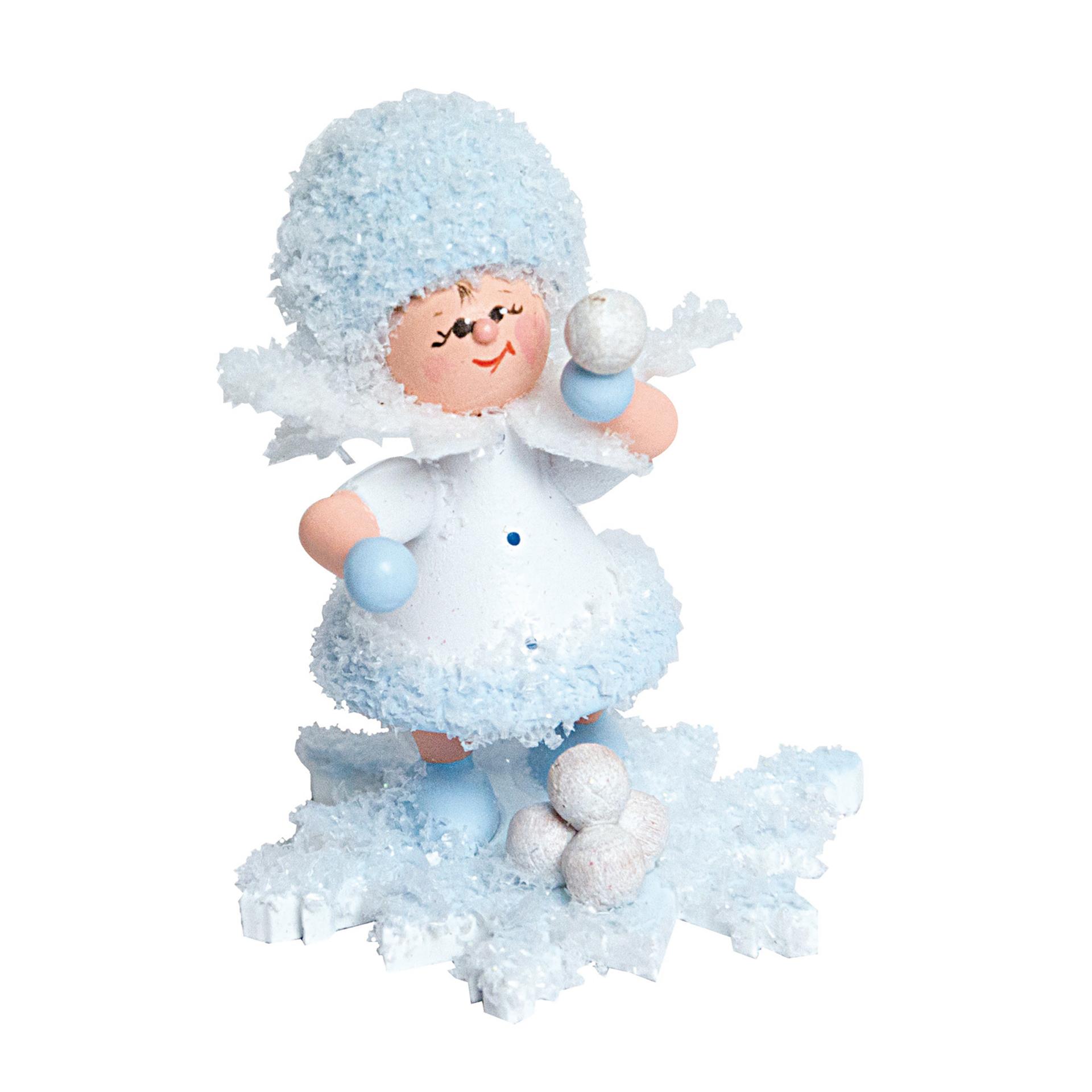 Schneeflöckchen Schneeballschlacht