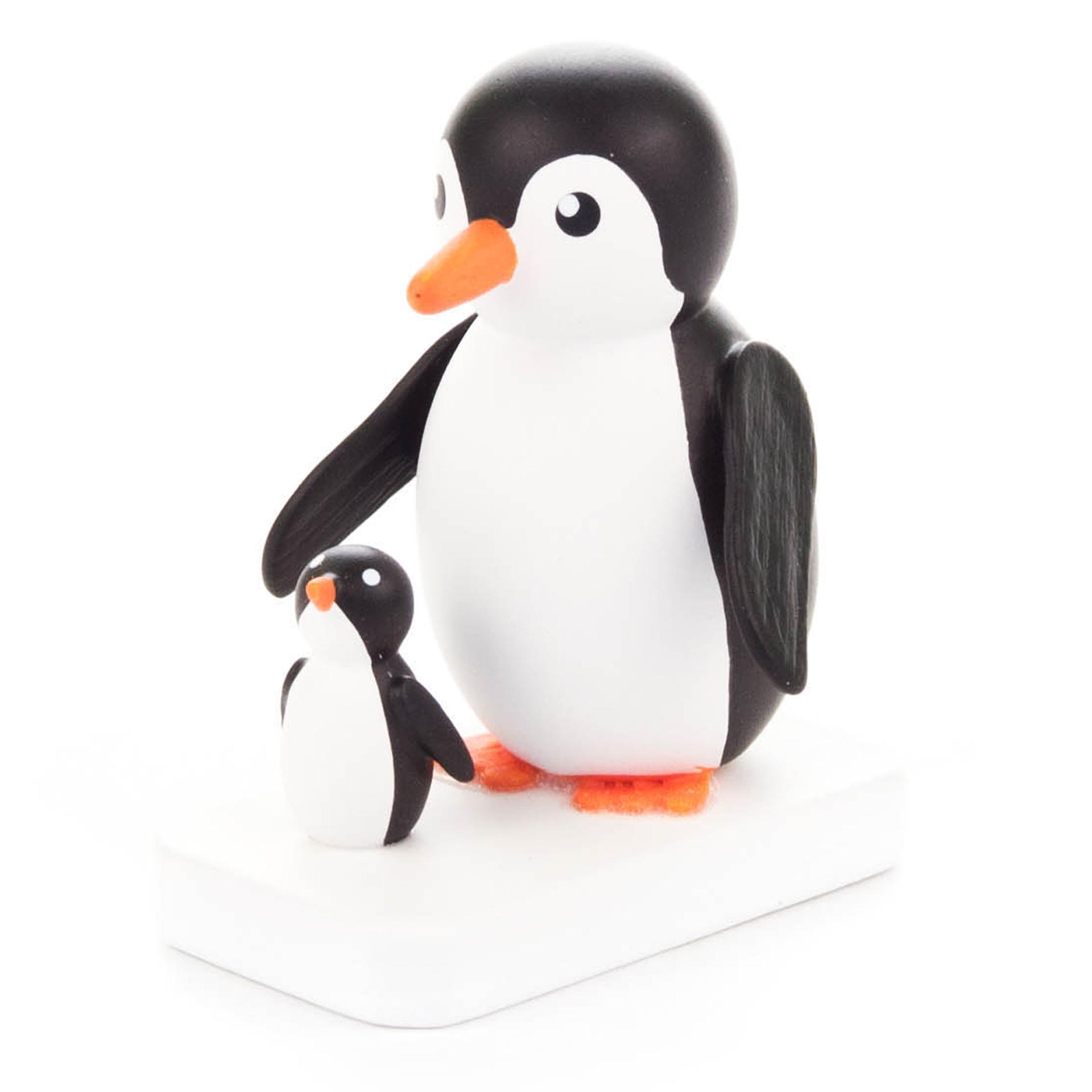 Pinguin Mutter mit Kind