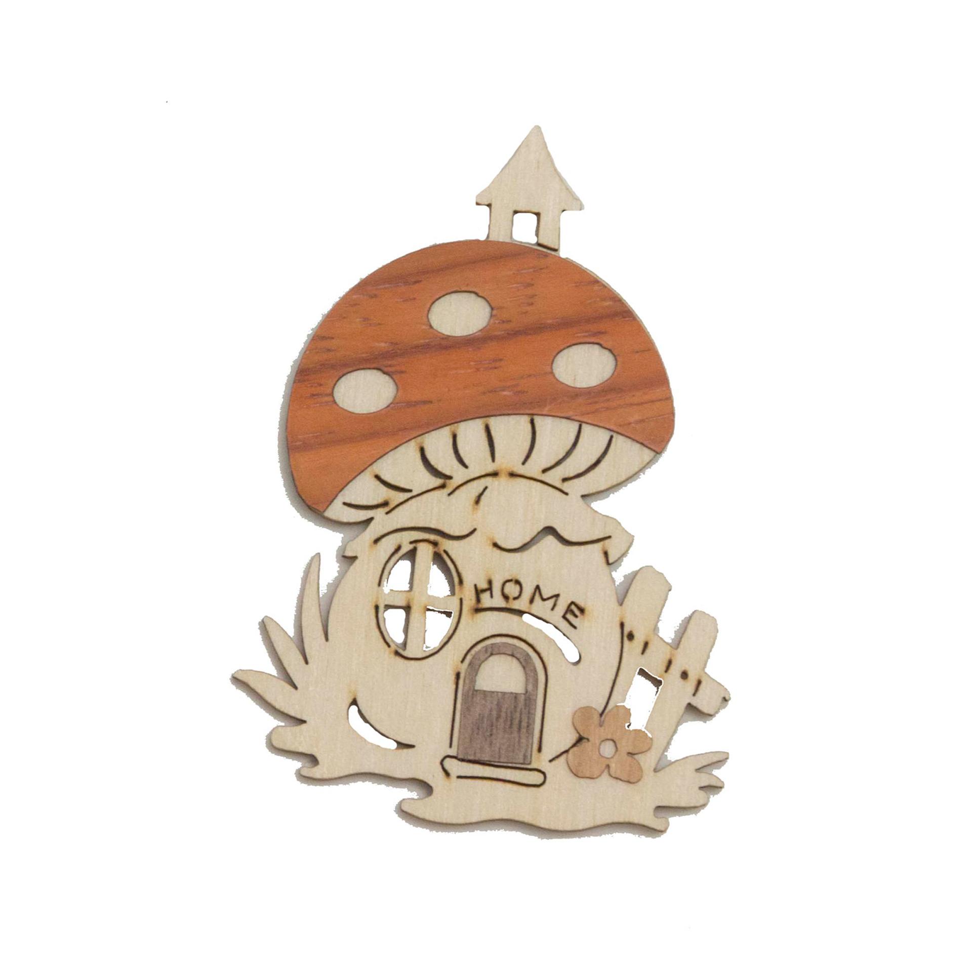 Baumschmuck Winterhäuser - Pilz