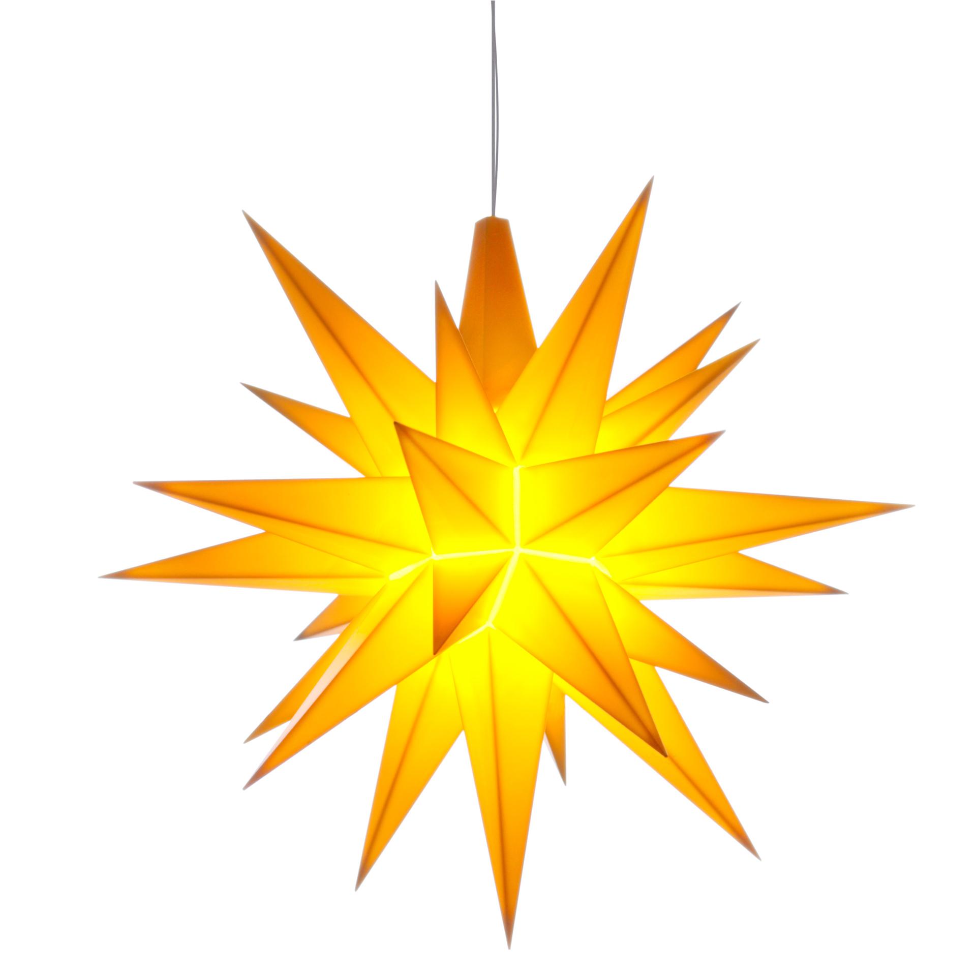 Herrnhuter Stern A1e, gelb