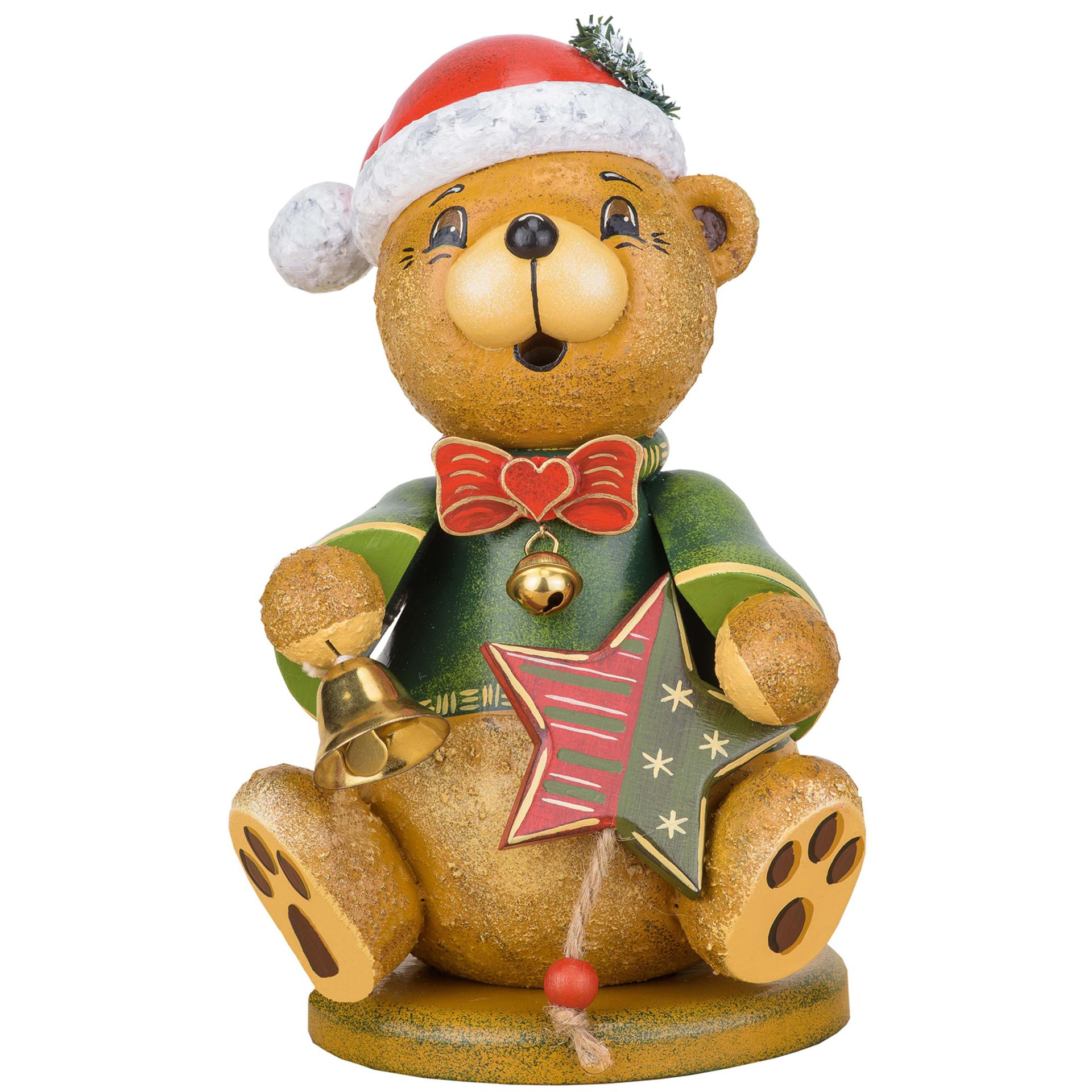 Rauchfigur Teddy Weihnachtsklaus