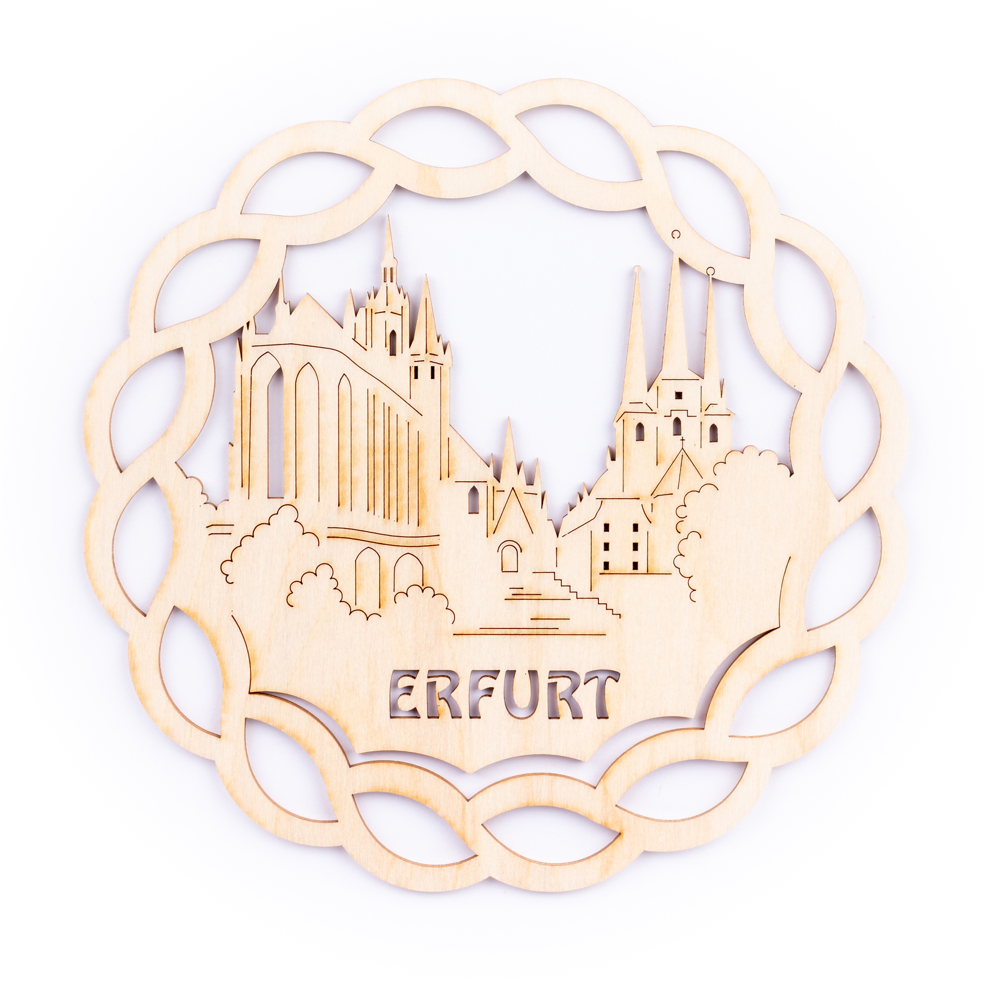 Fensterbild Erfurt, groß