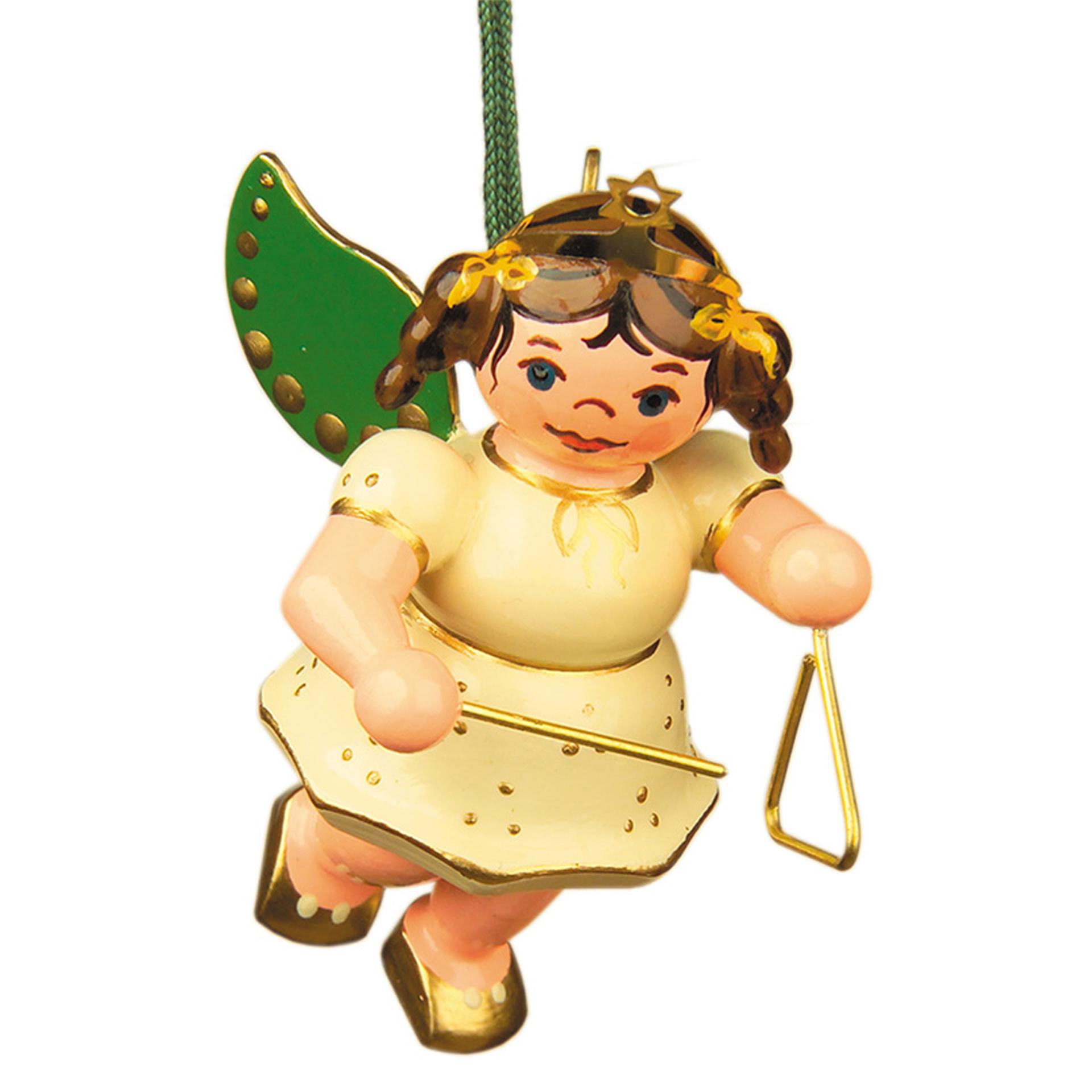 Baumschmuck Engel mit Triangel