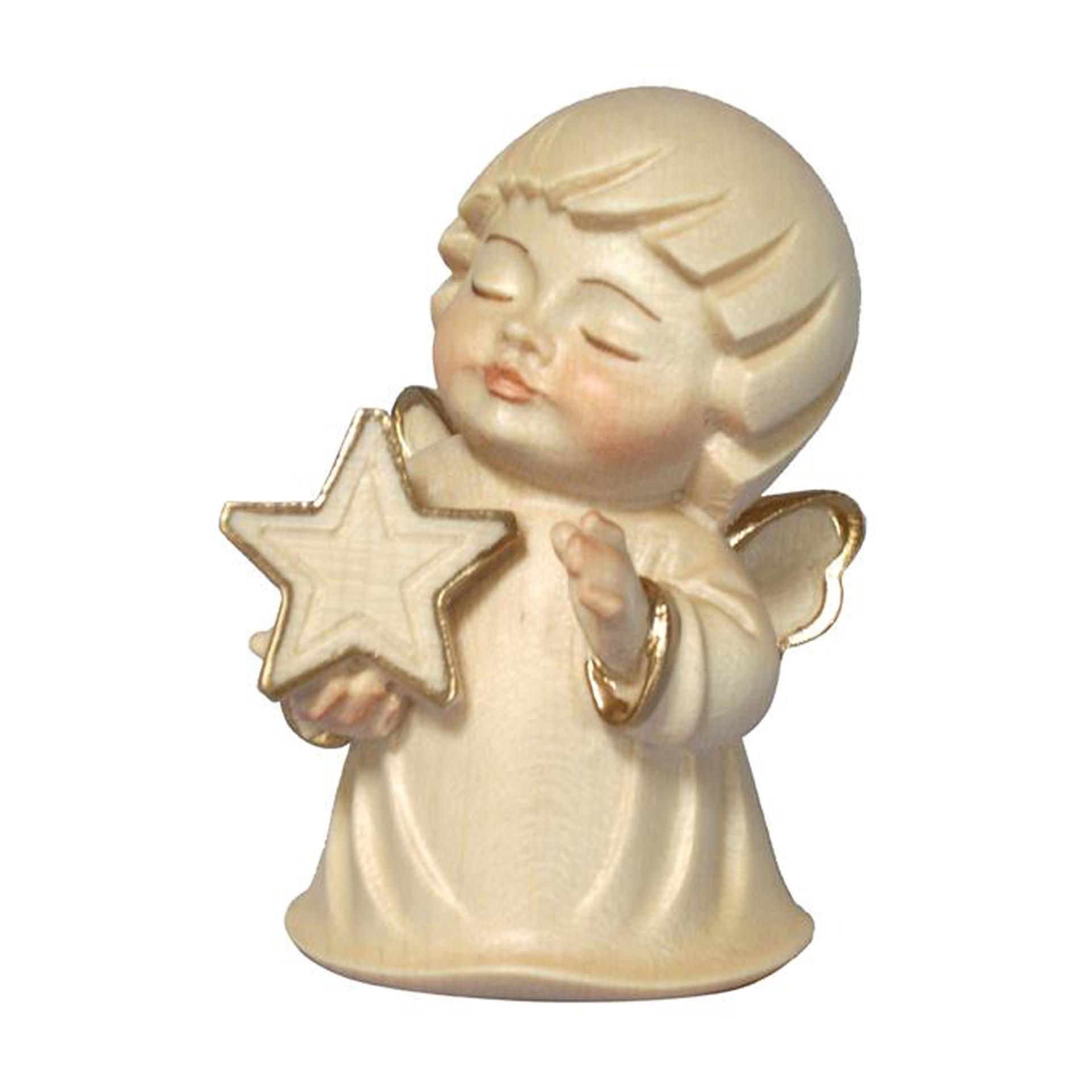 Engel mit Stern, alabaster