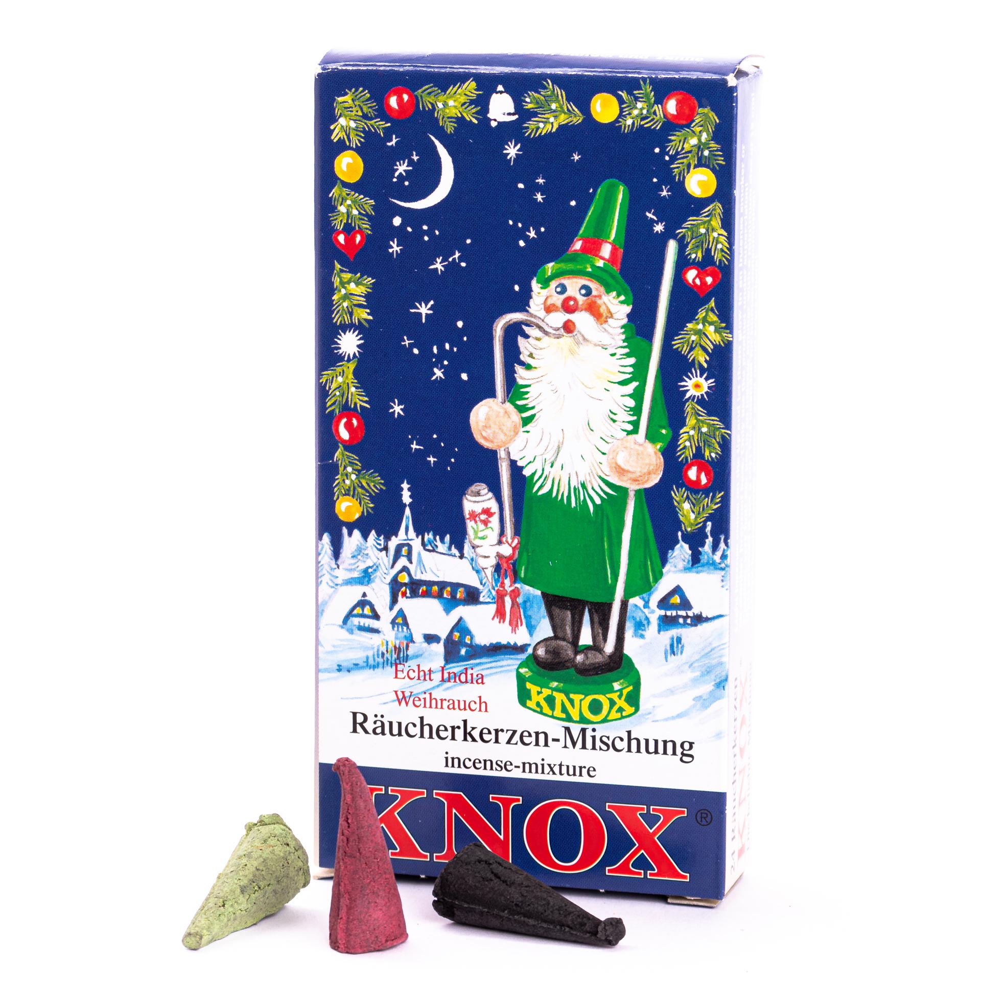 Knox Räucherkerzen Weihnachtsmischung