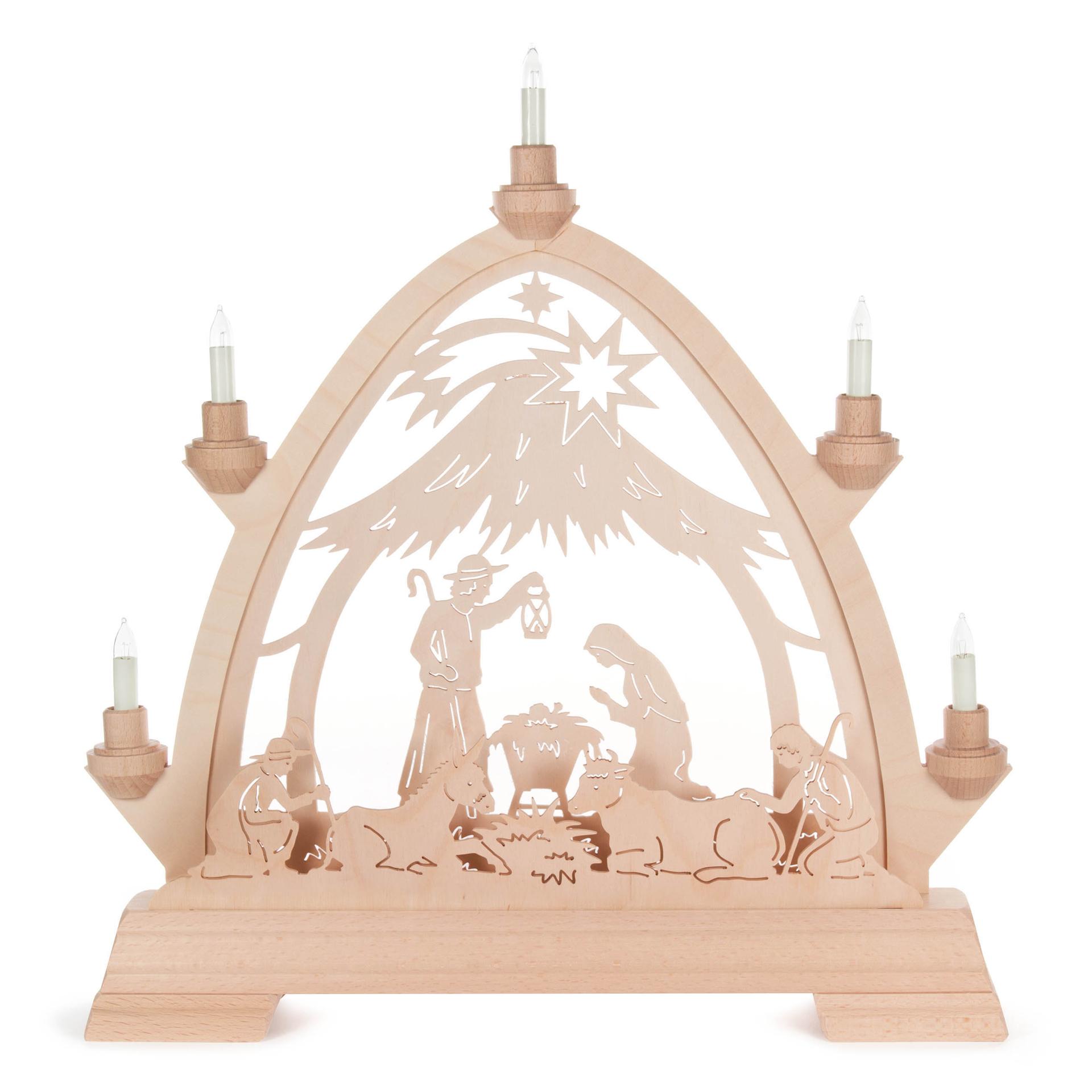 Schwibbogen Christi Geburt, Gothischer Bogen