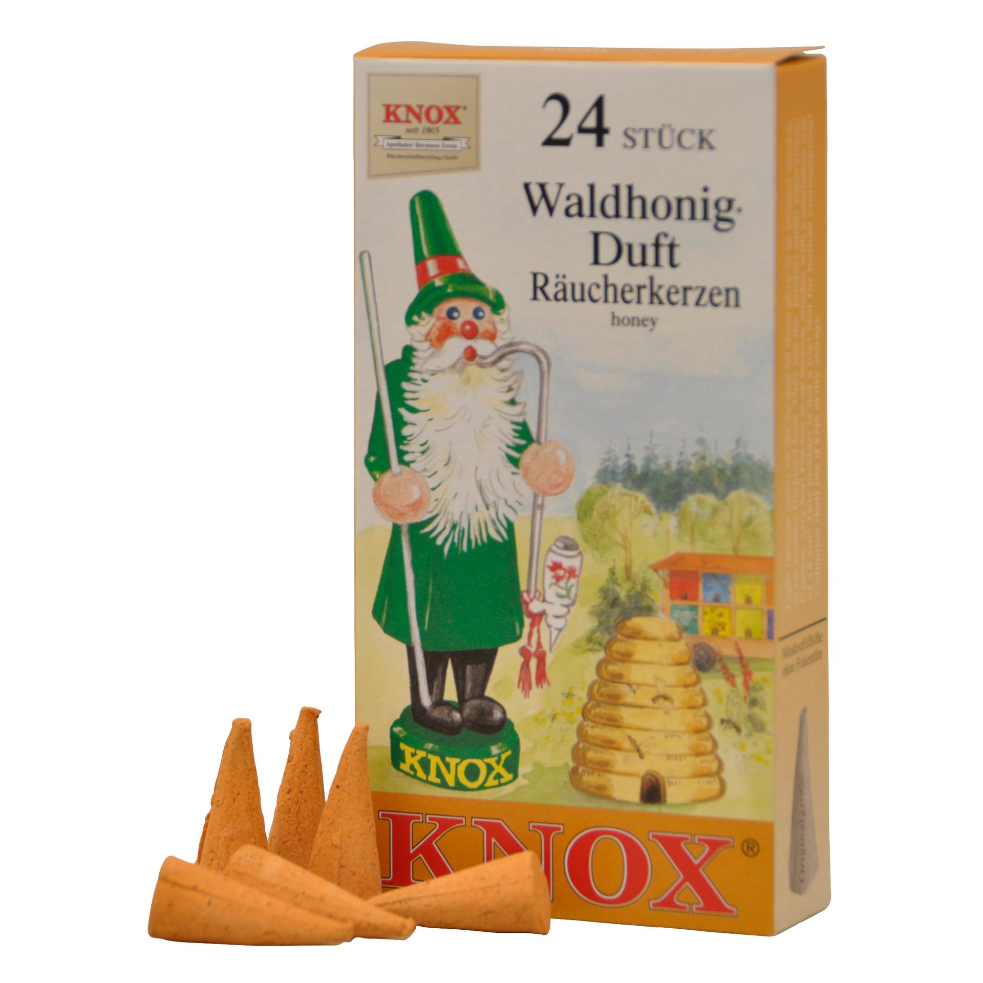 Knox Räucherkerzen Waldhonig