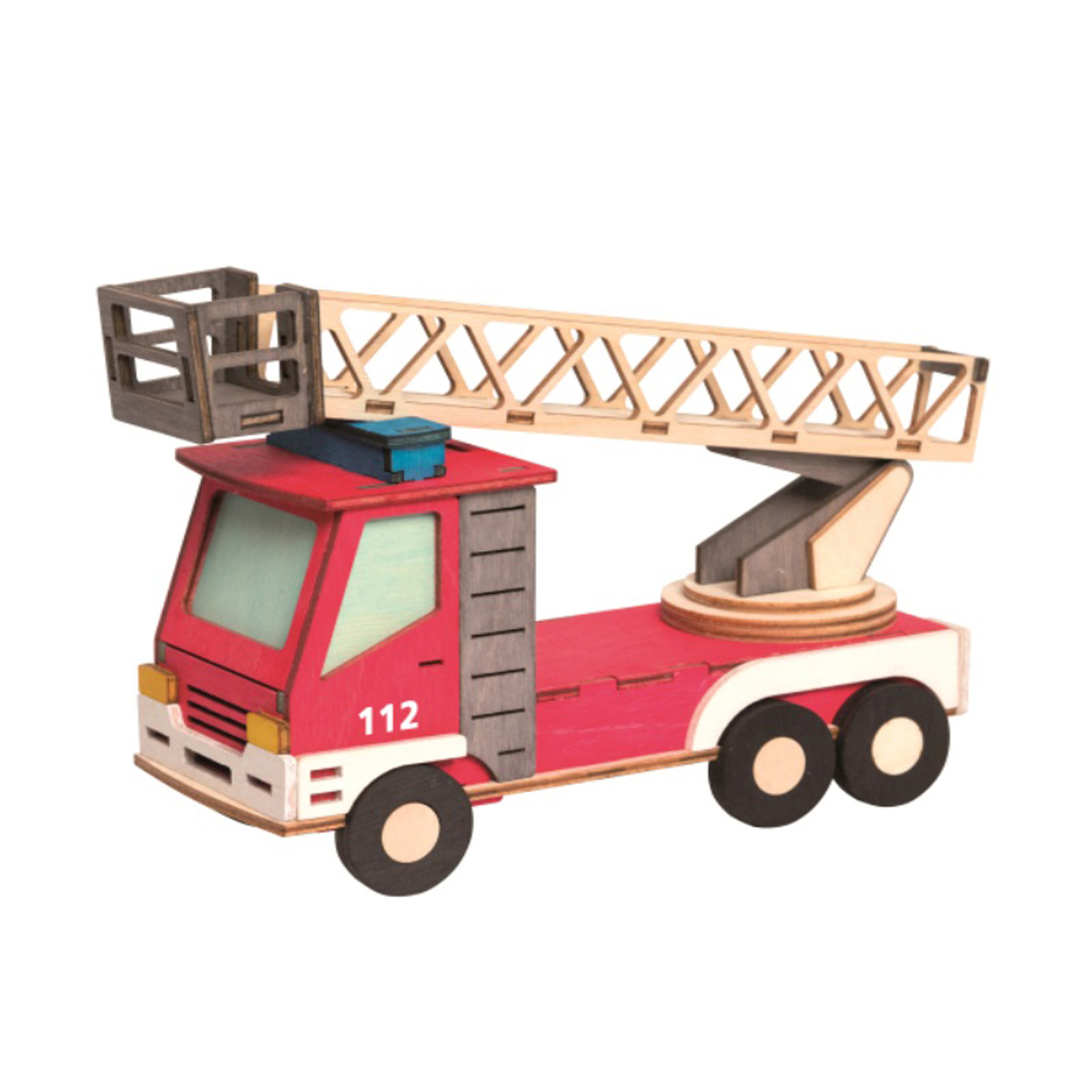 Bastelset Feuerwehr Rauchhaus