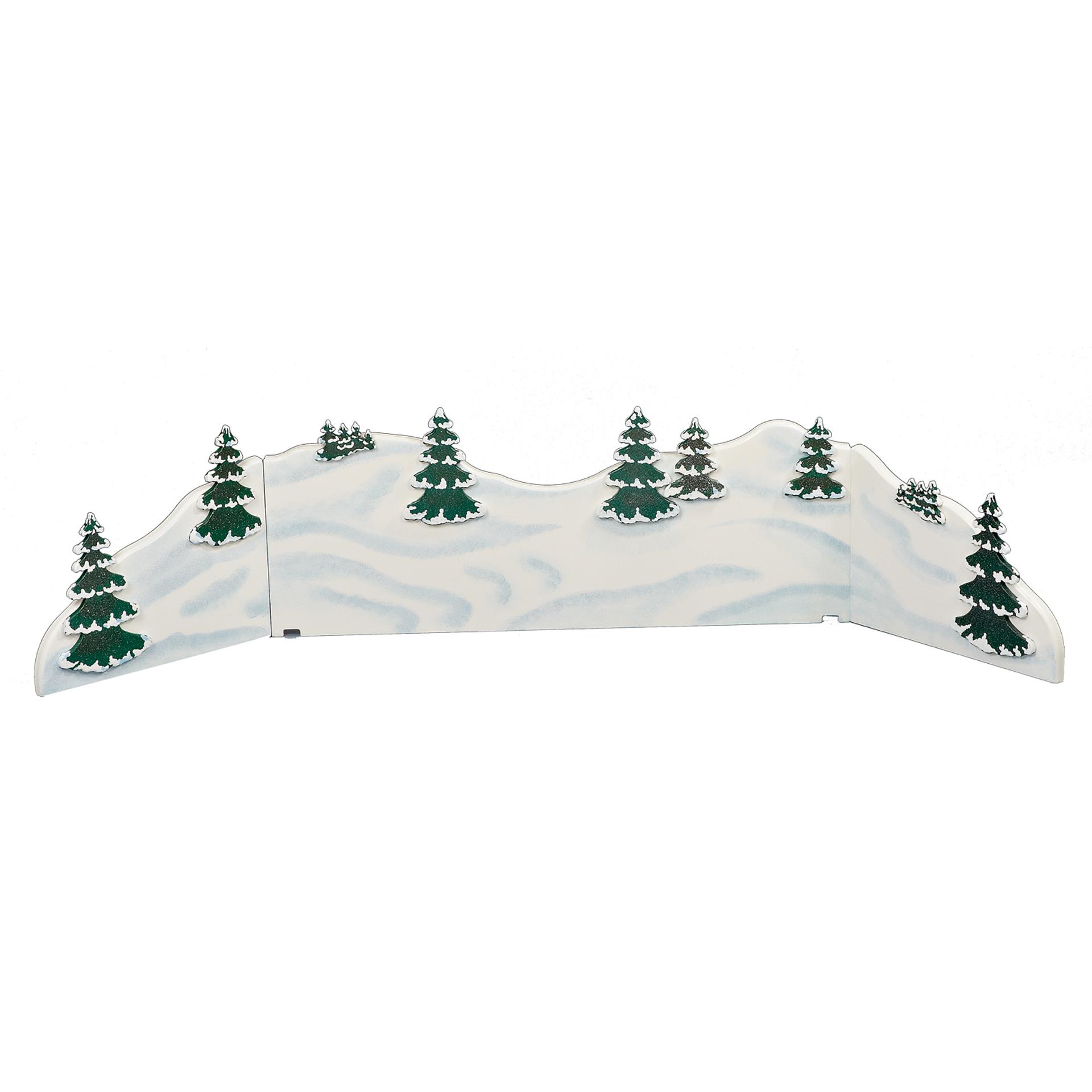 Winterlandschaft Diorama