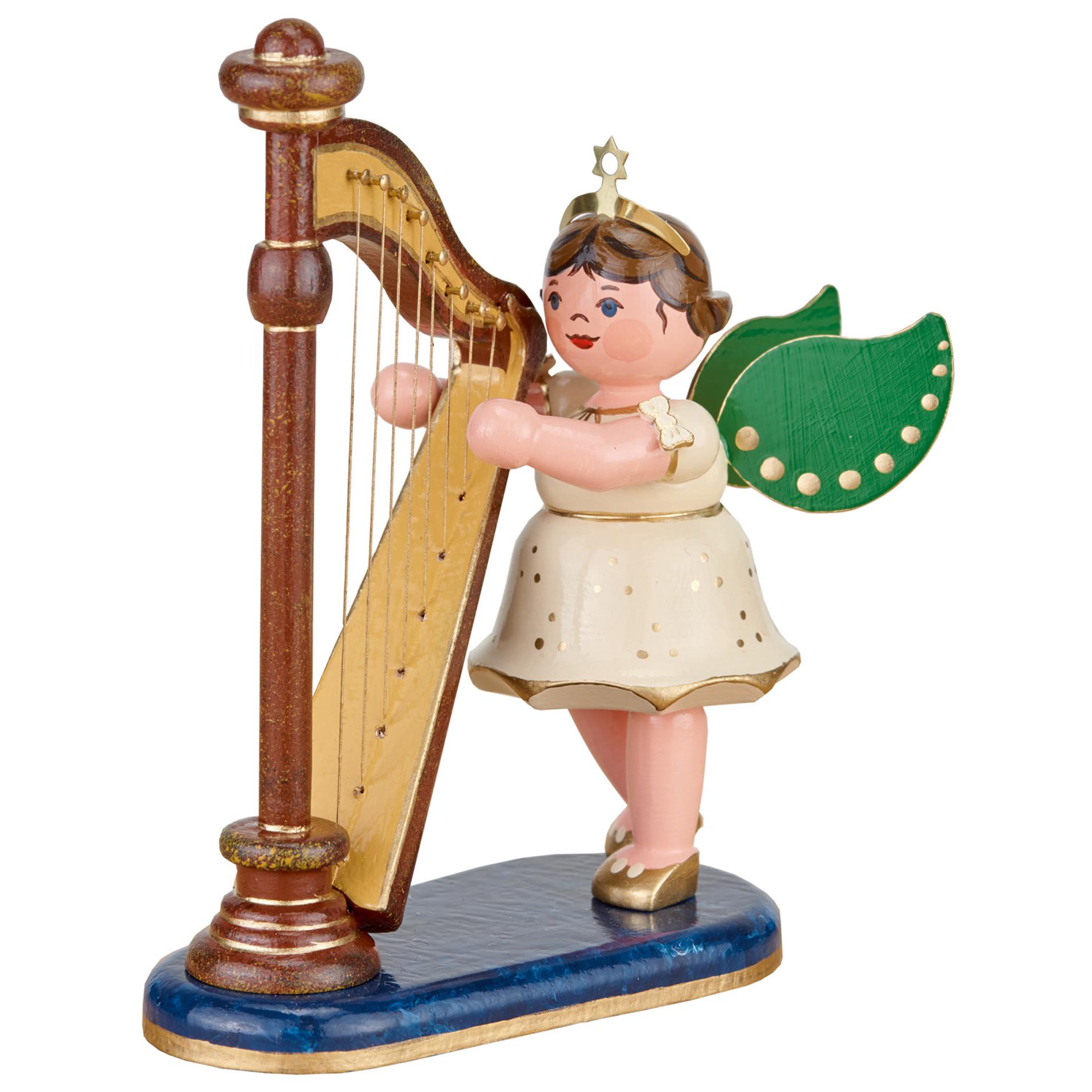 Engel mit Harfe, mittel