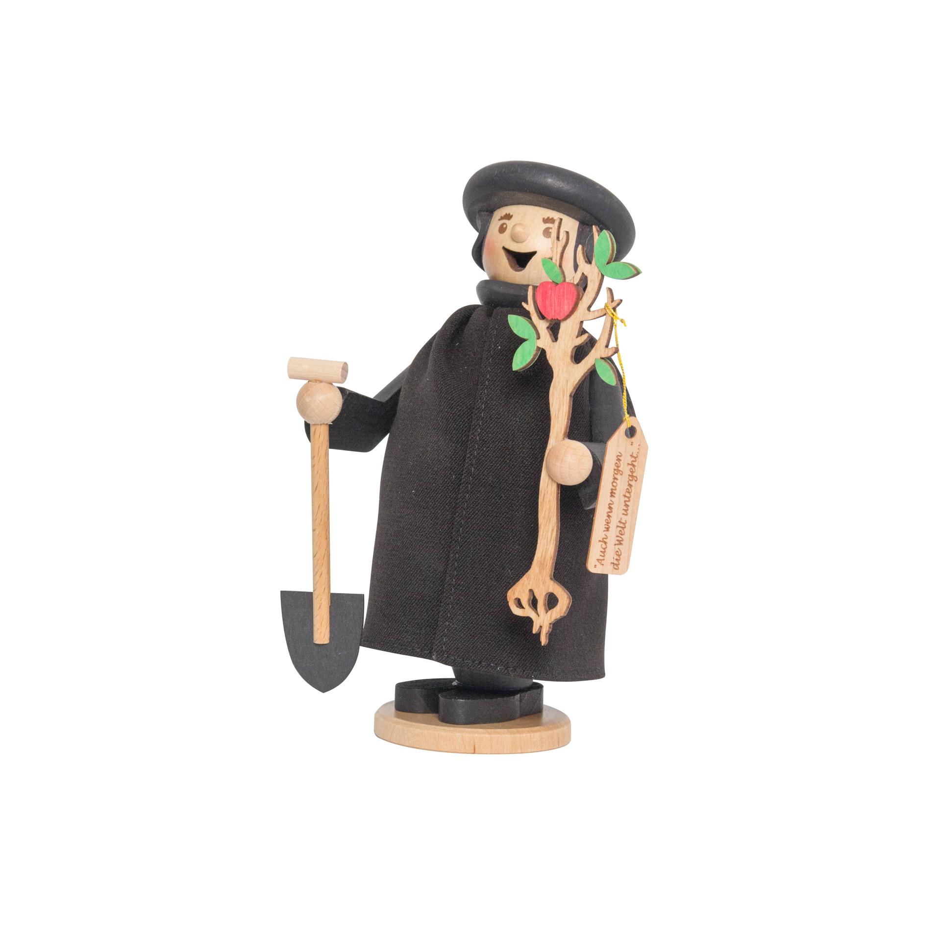 Luther mit Apfelbaum