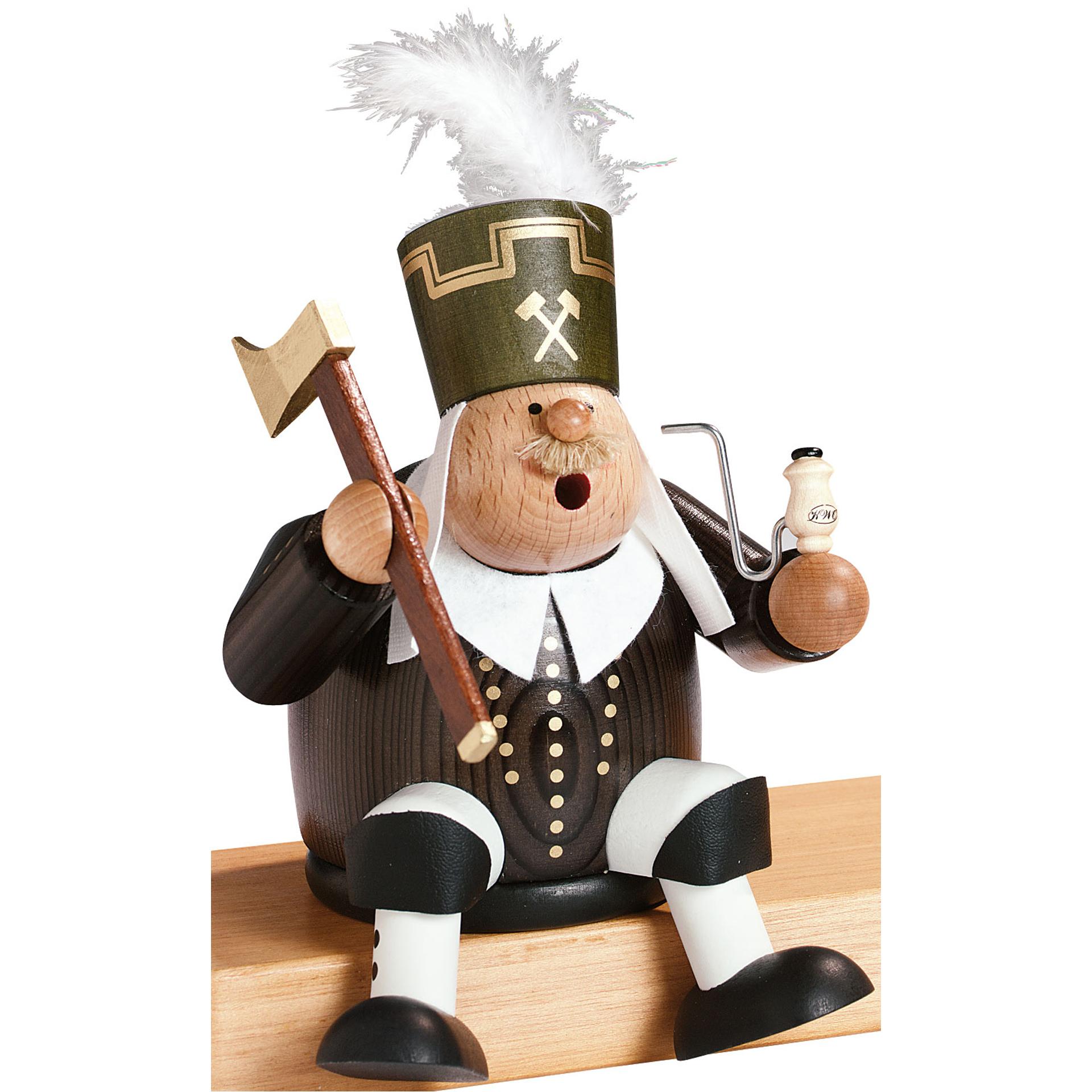 Rauchfigur Bergmann