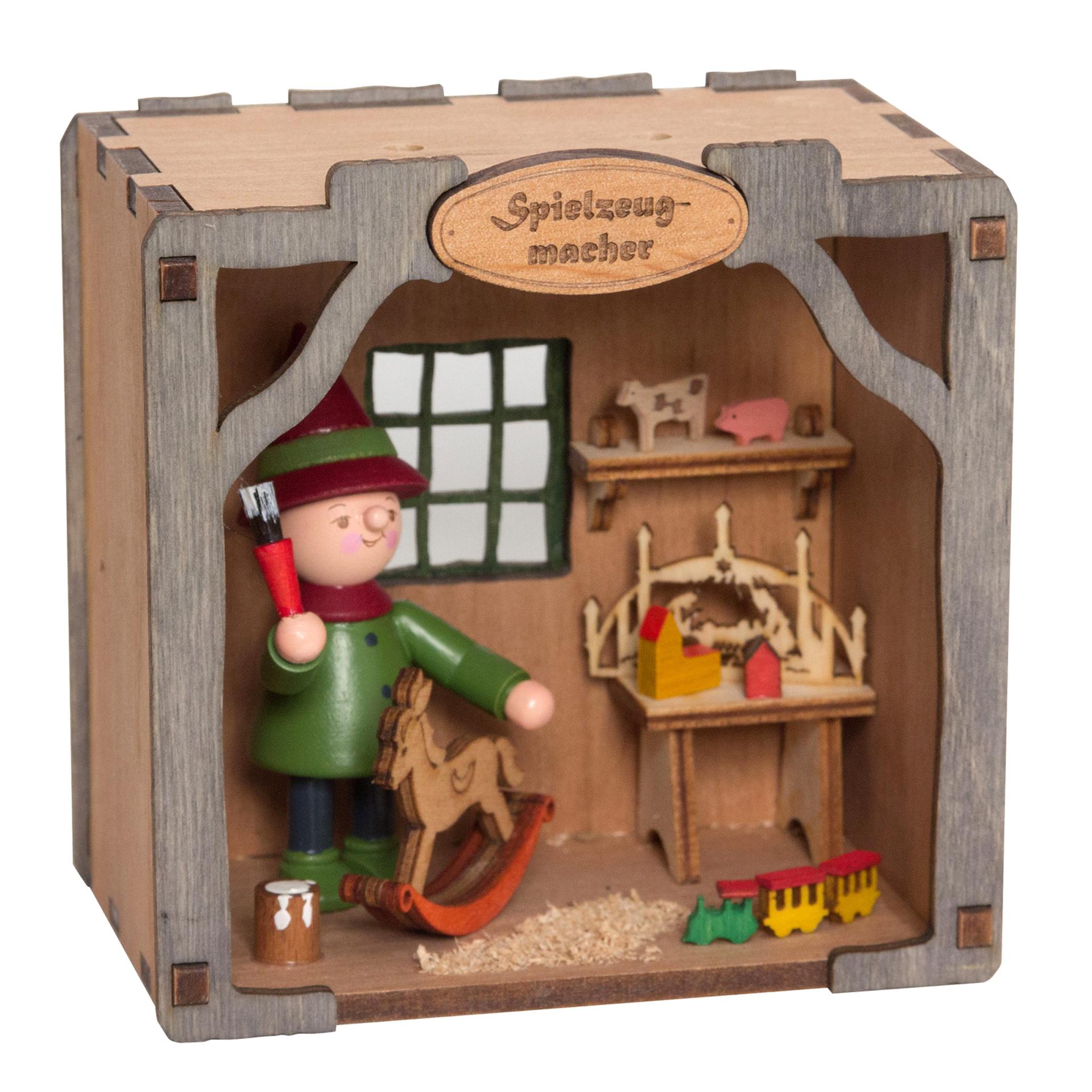 Wichtelhaus Spielzeugmacher - ohne Dach