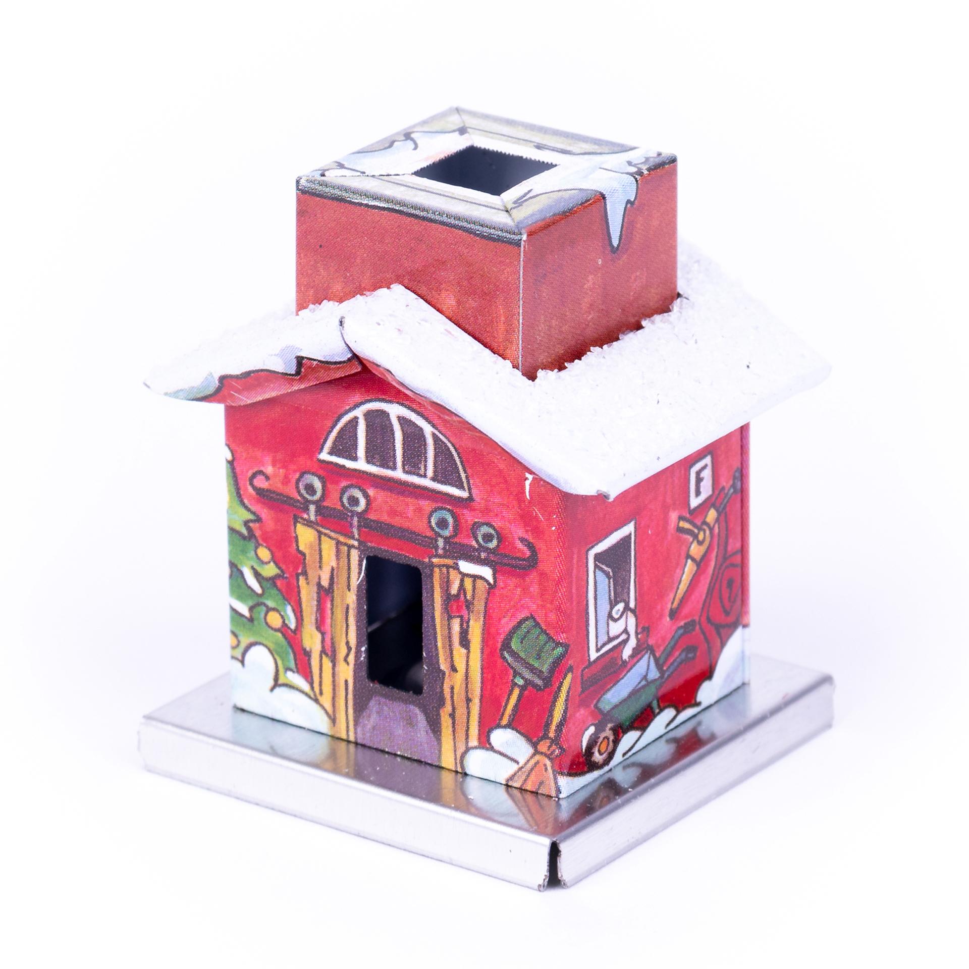Rauchhaus Metall Mini Heizhaus