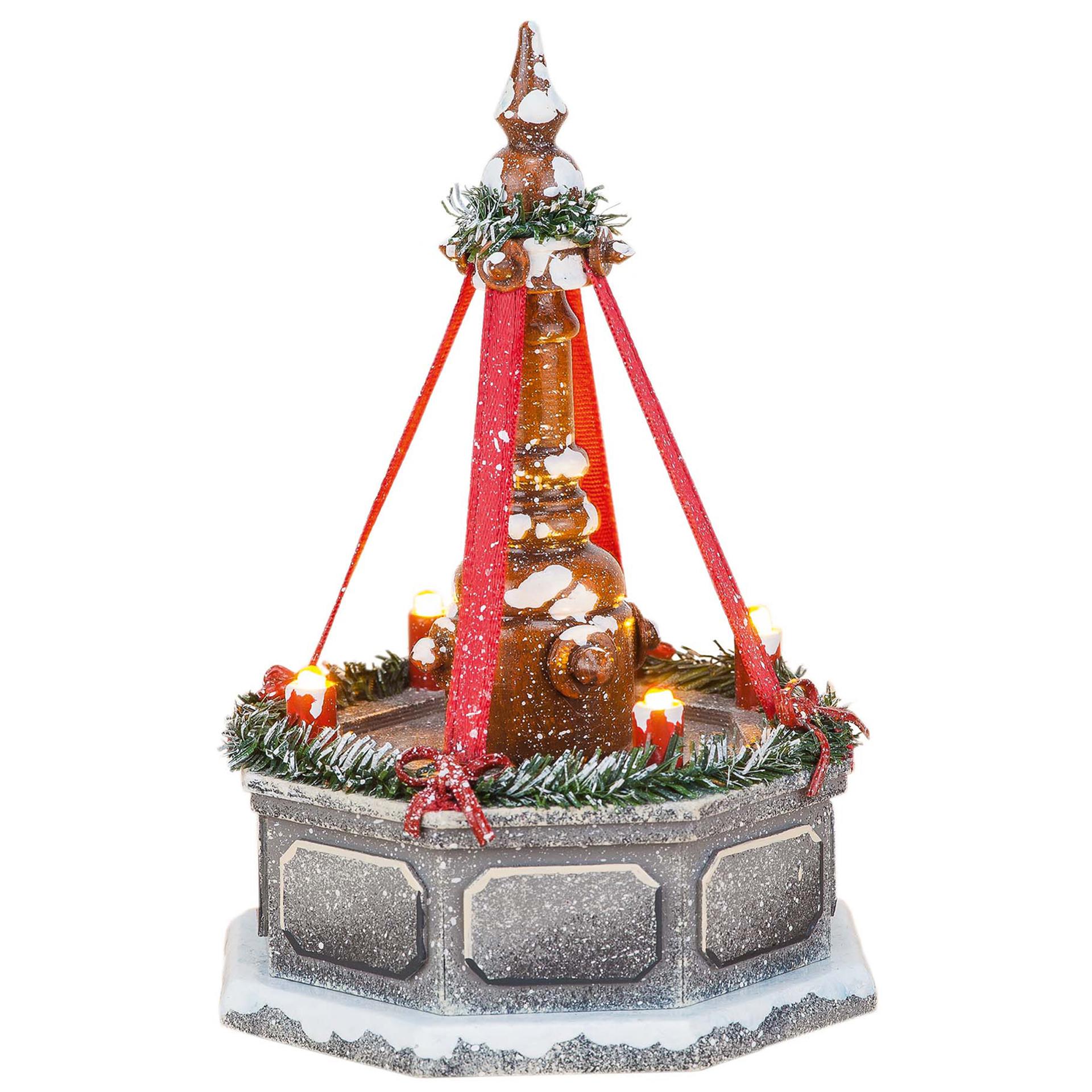 Winterkinder Stadtbrunnen elektrisch