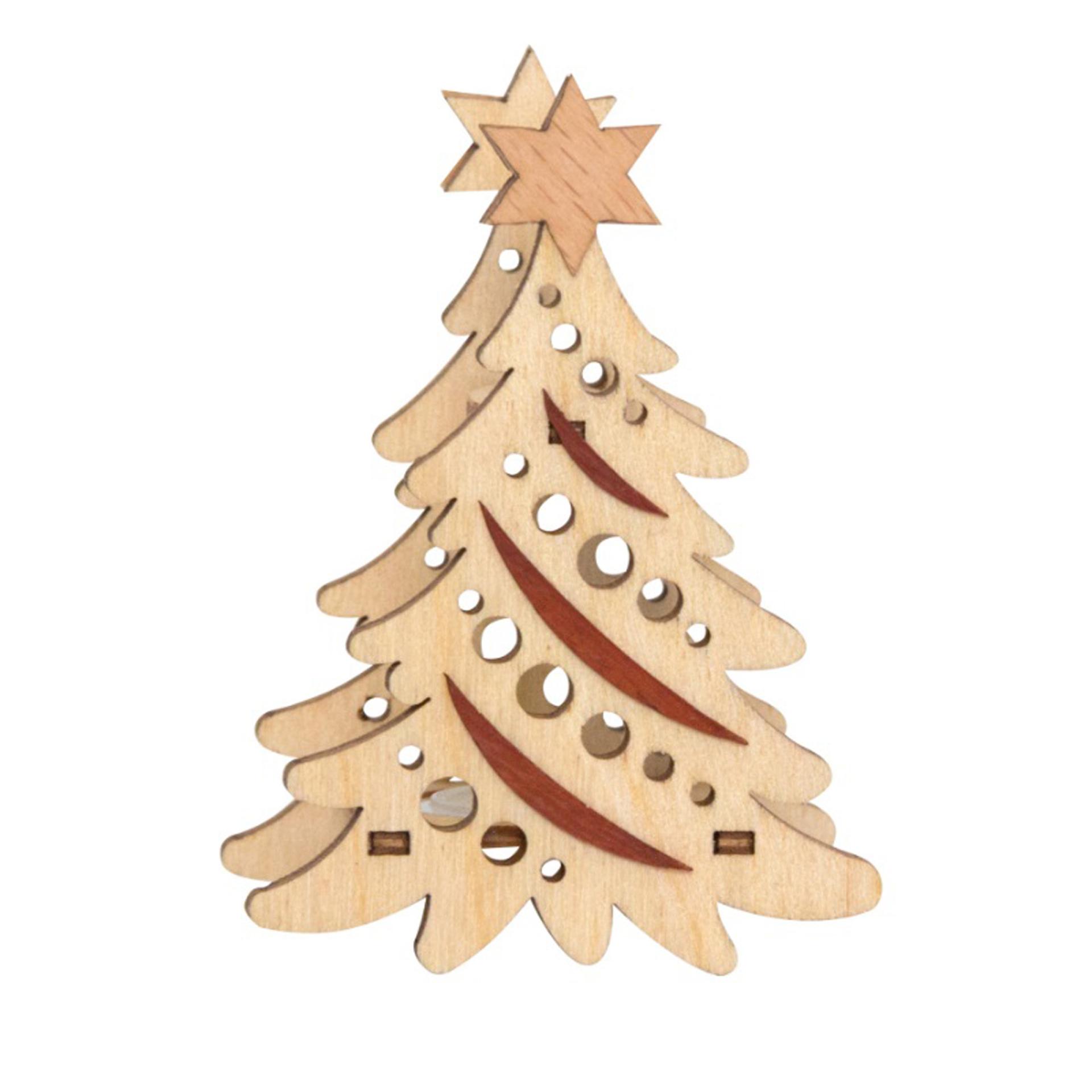 Kerzenaufstecker Weihnachtsbaum