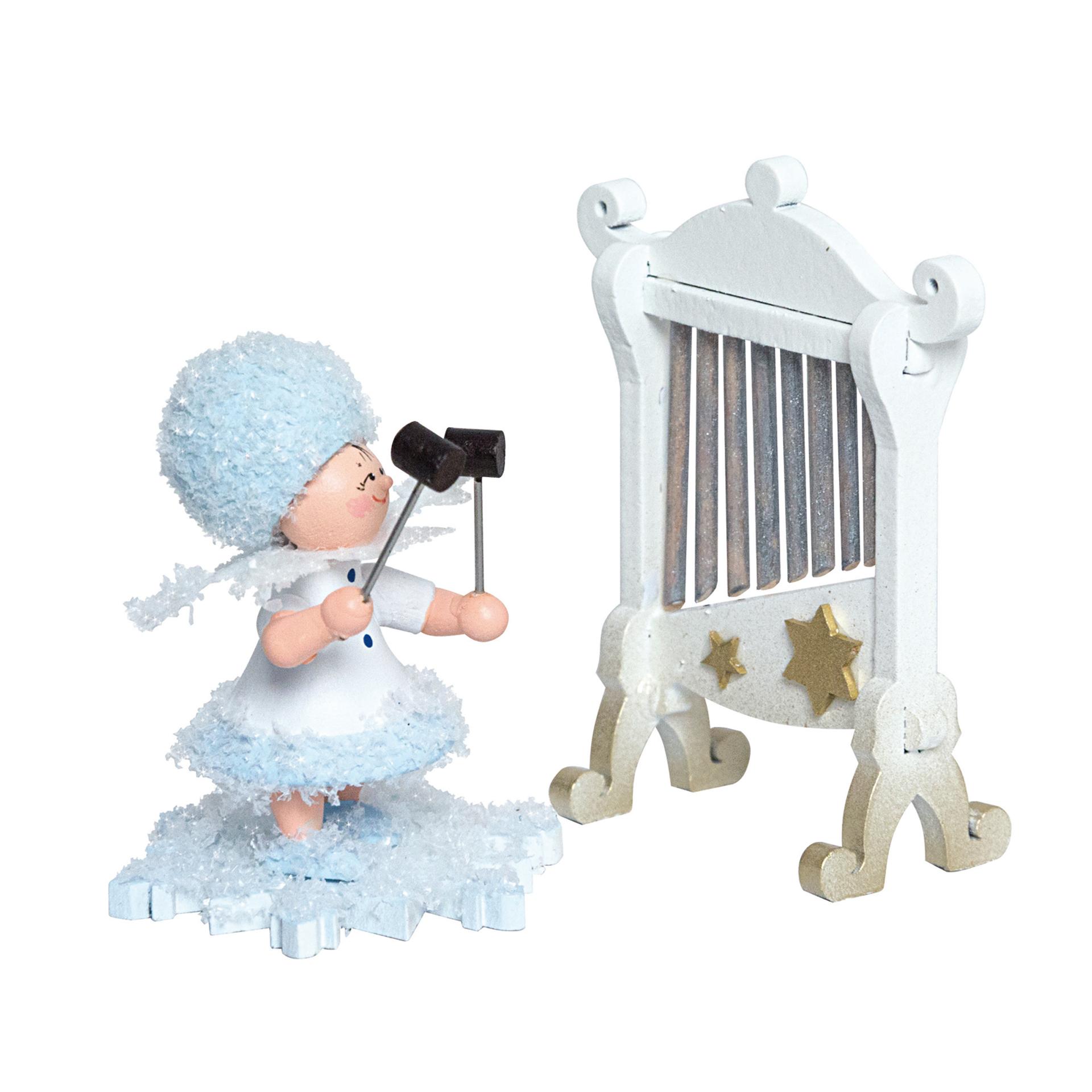 Schneeflöckchen mit Glockenspiel