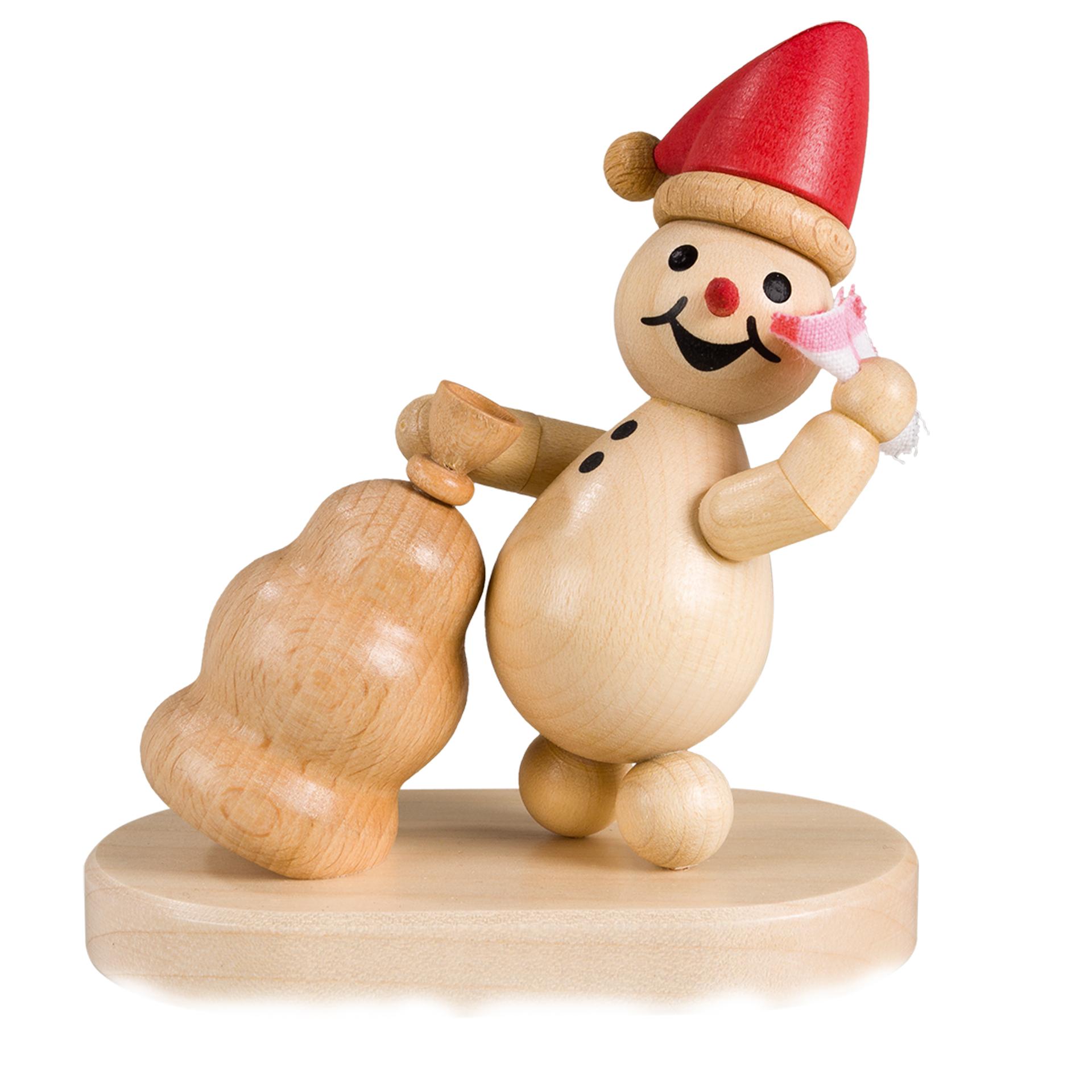 Schneemann Junior Weihnachtswichtel, rote Mütze