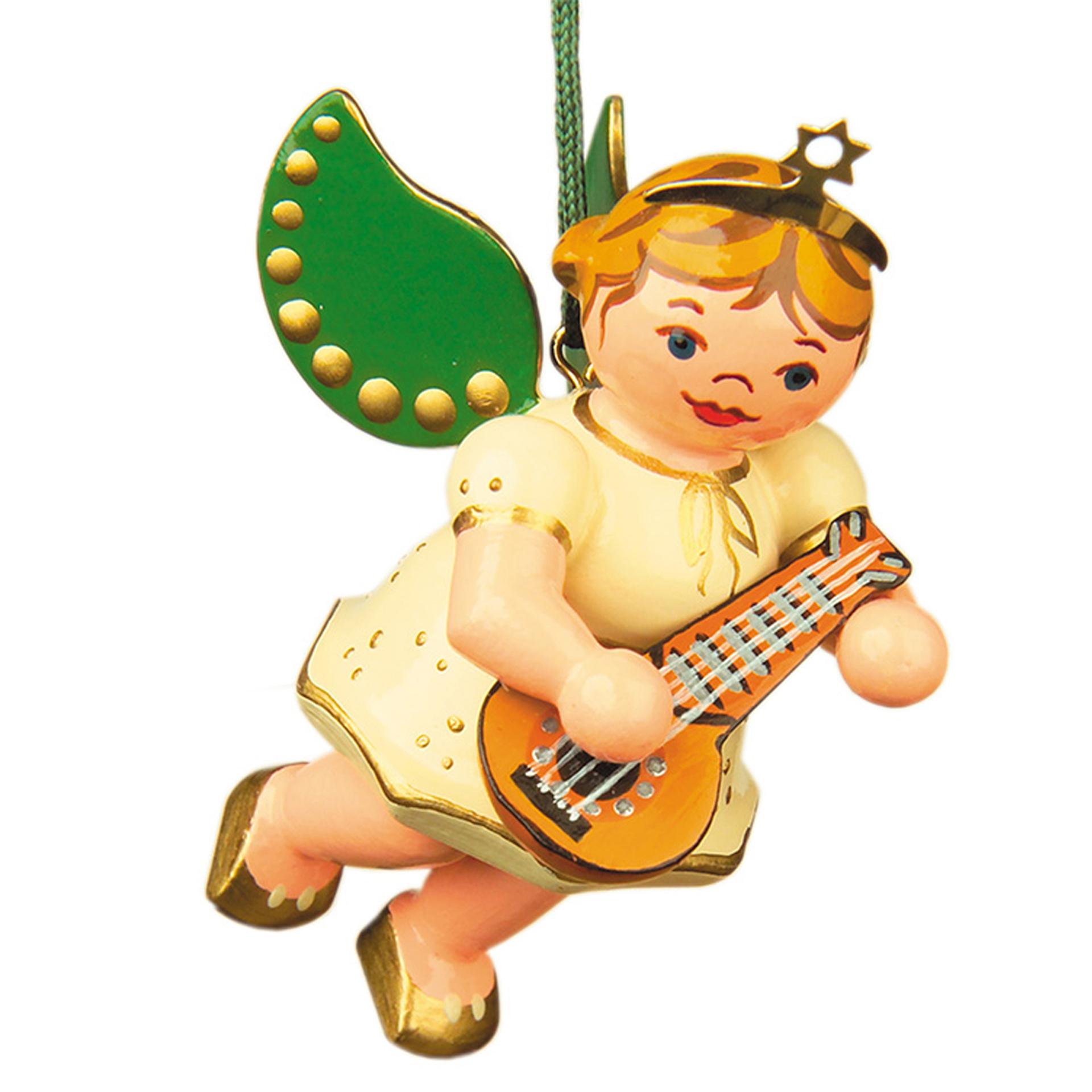 Baumschmuck Engel mit Mandoline