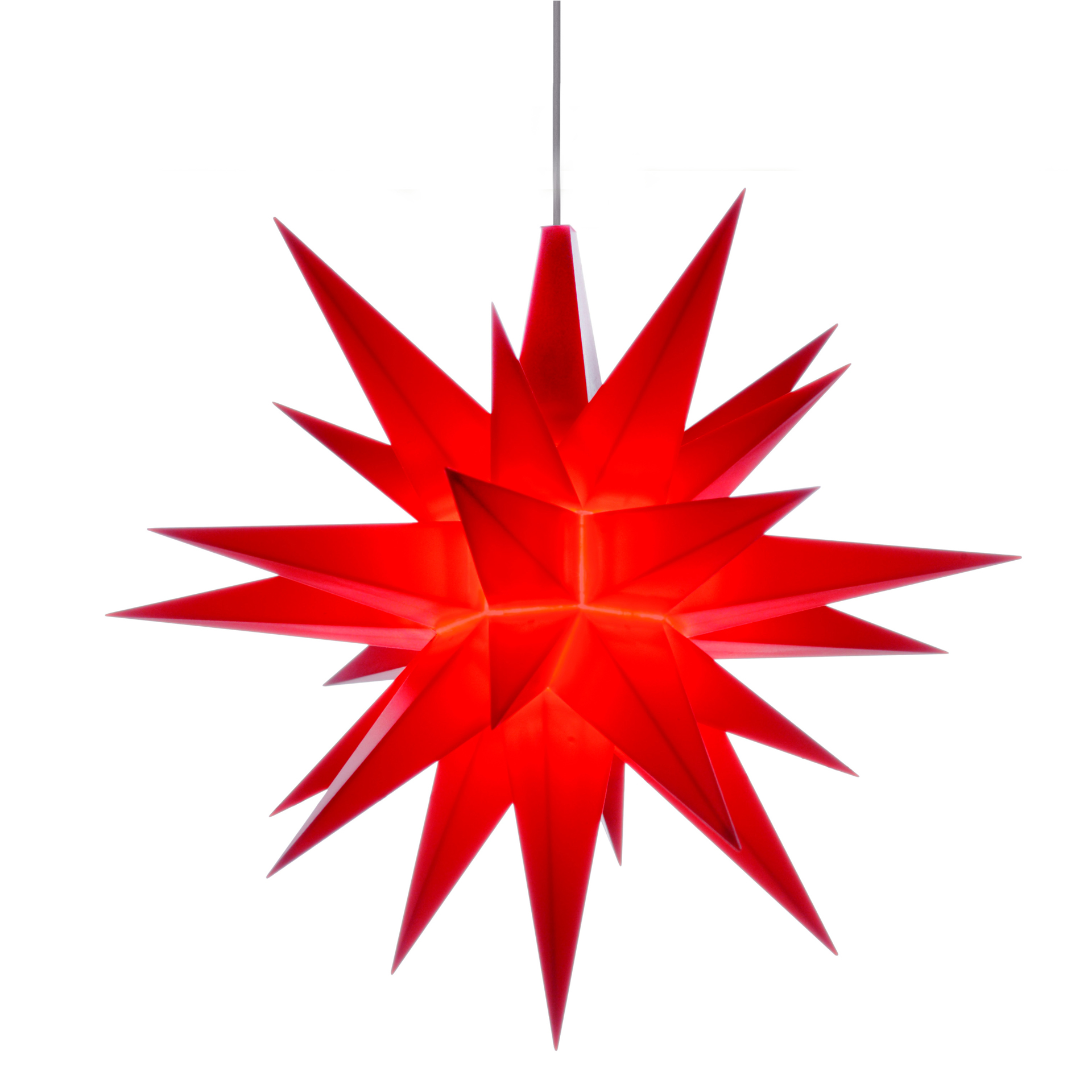 Herrnhuter Stern A1e, rot