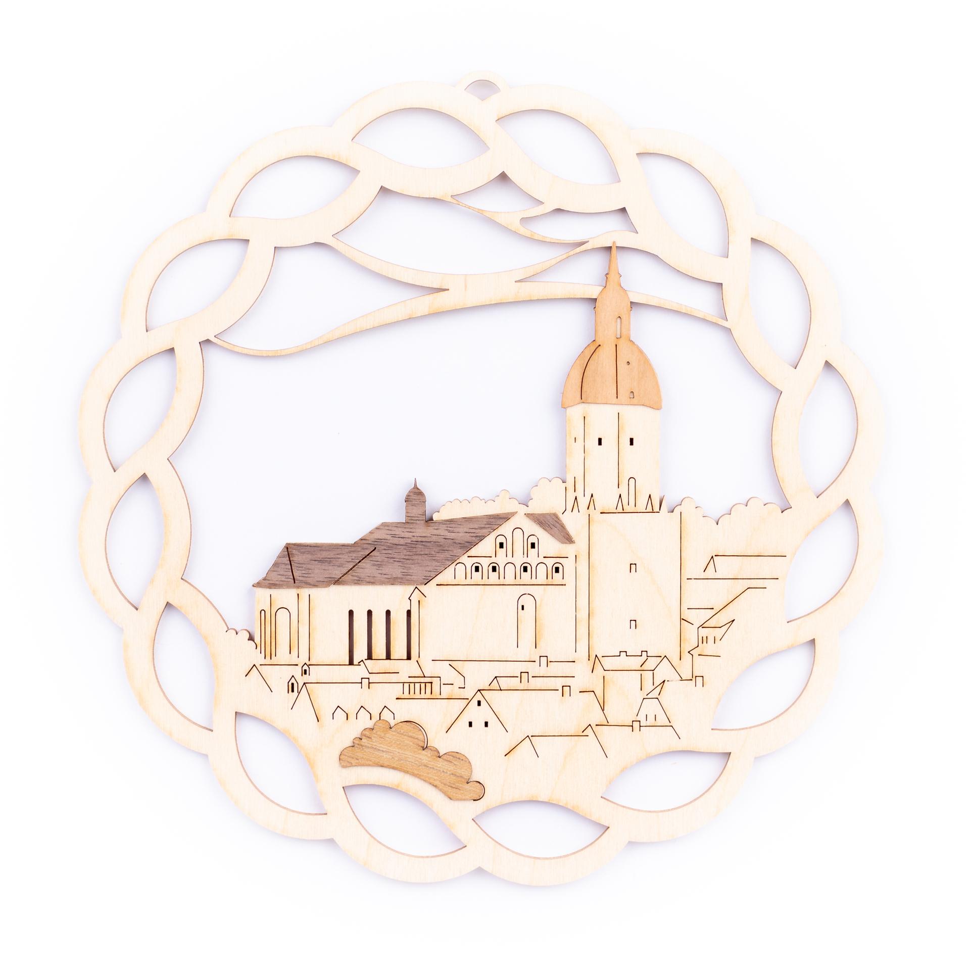 Fensterbild St. Annenkirche Annaberg