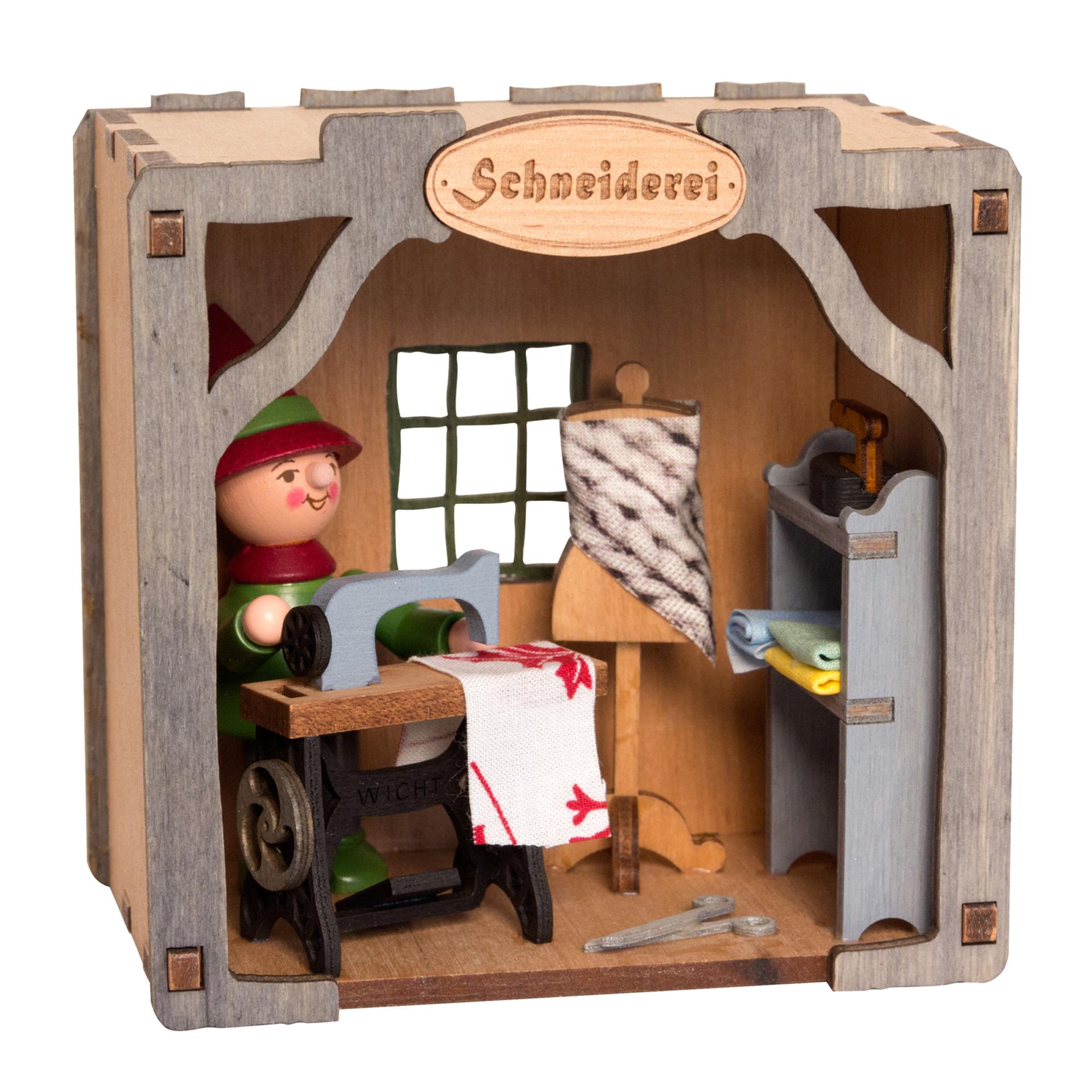 Wichtelhaus Schneider - ohne Dach