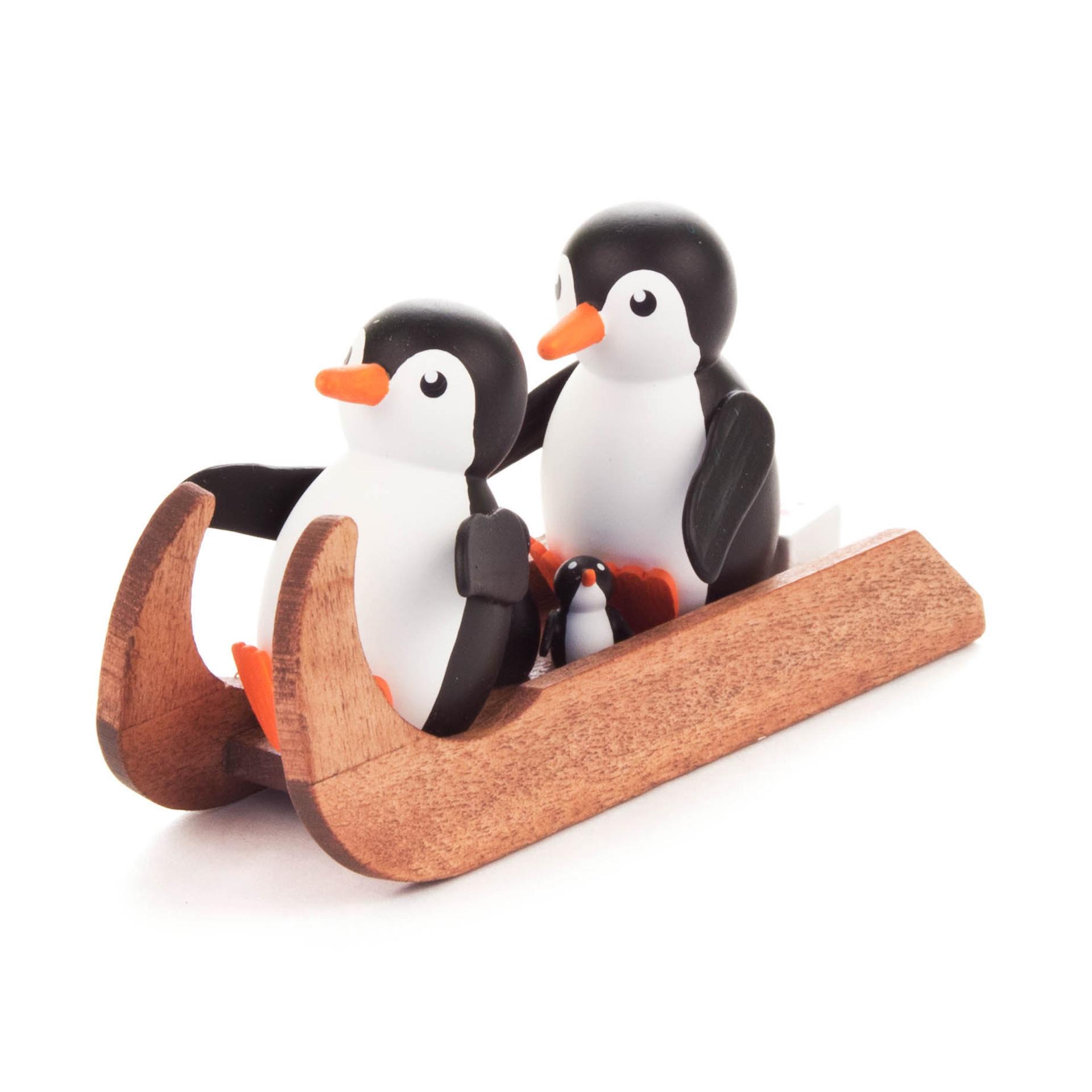 Pinguine Familienausflug
