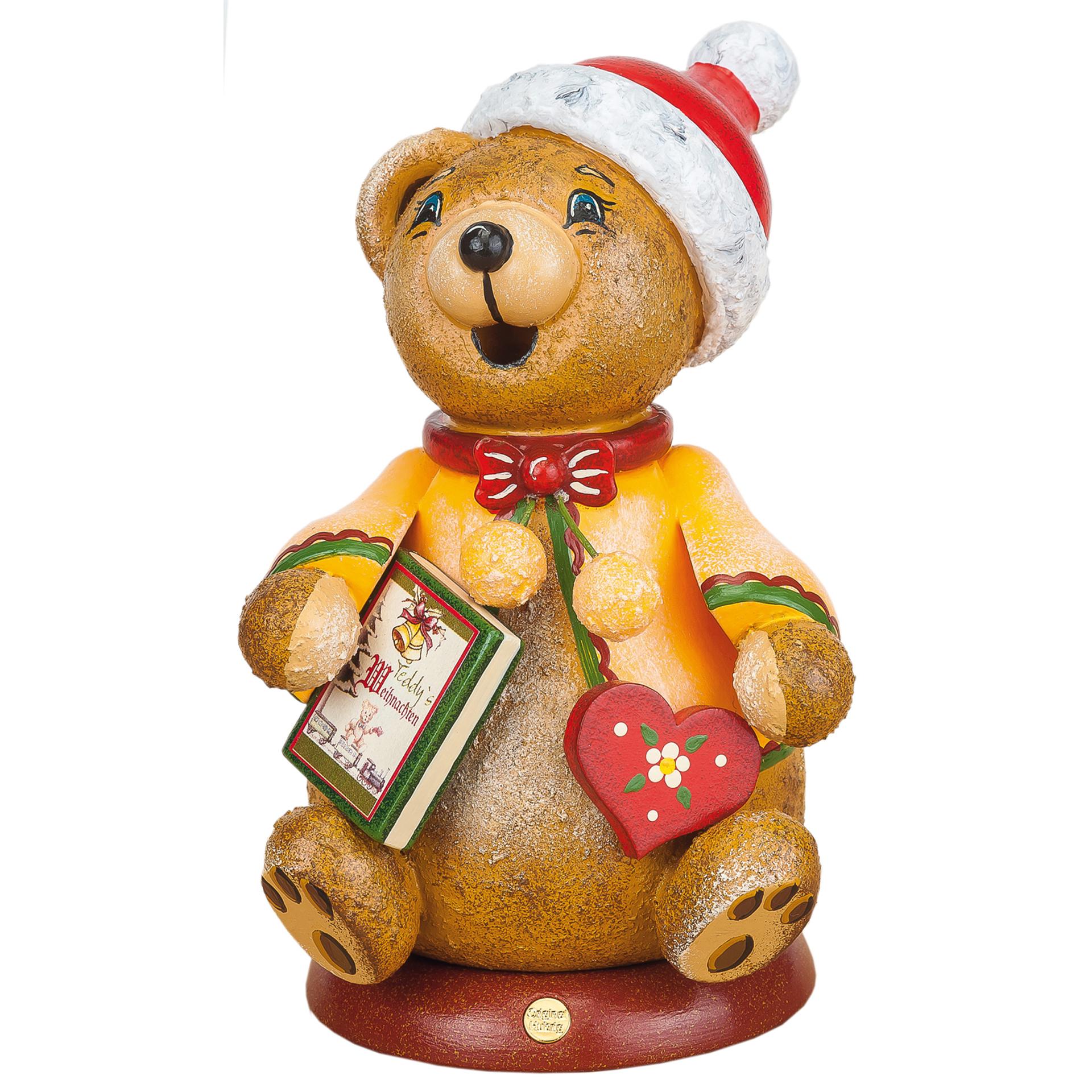 Rauchfigur Teddy's Weihnachtsgeschichte