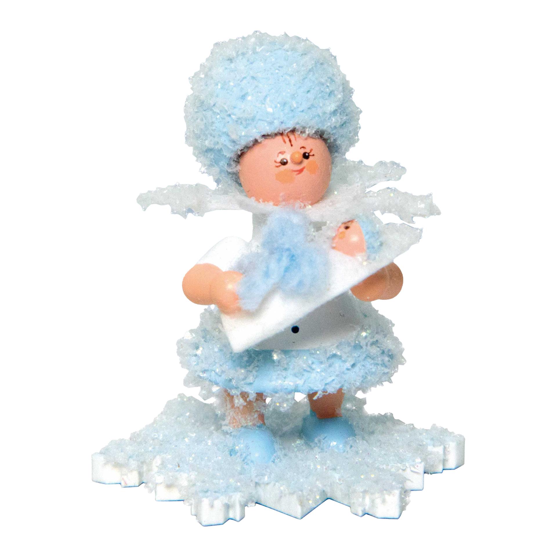 Schneeflöckchen mit Baby Junge