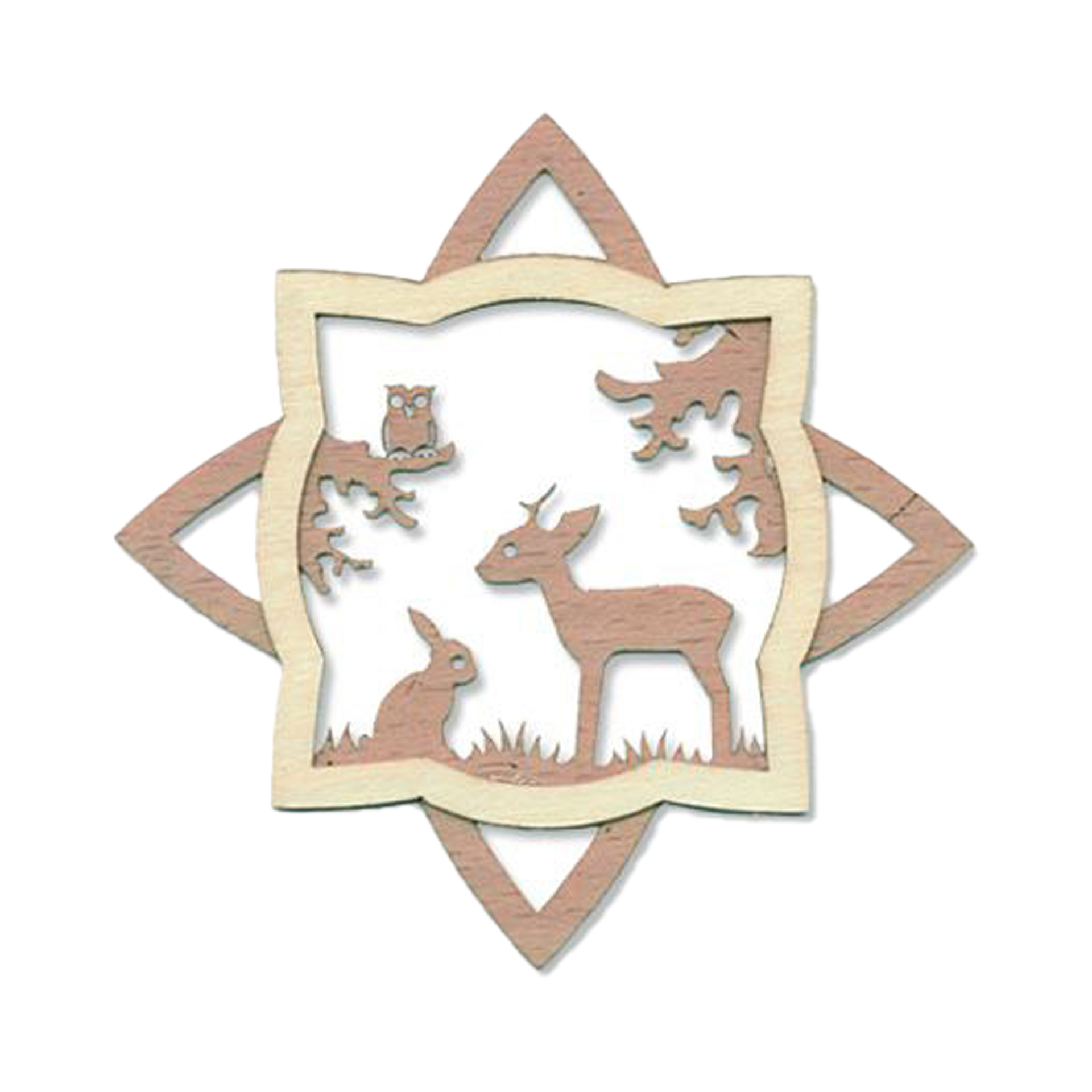 Baumschmuck Wald mit Reh