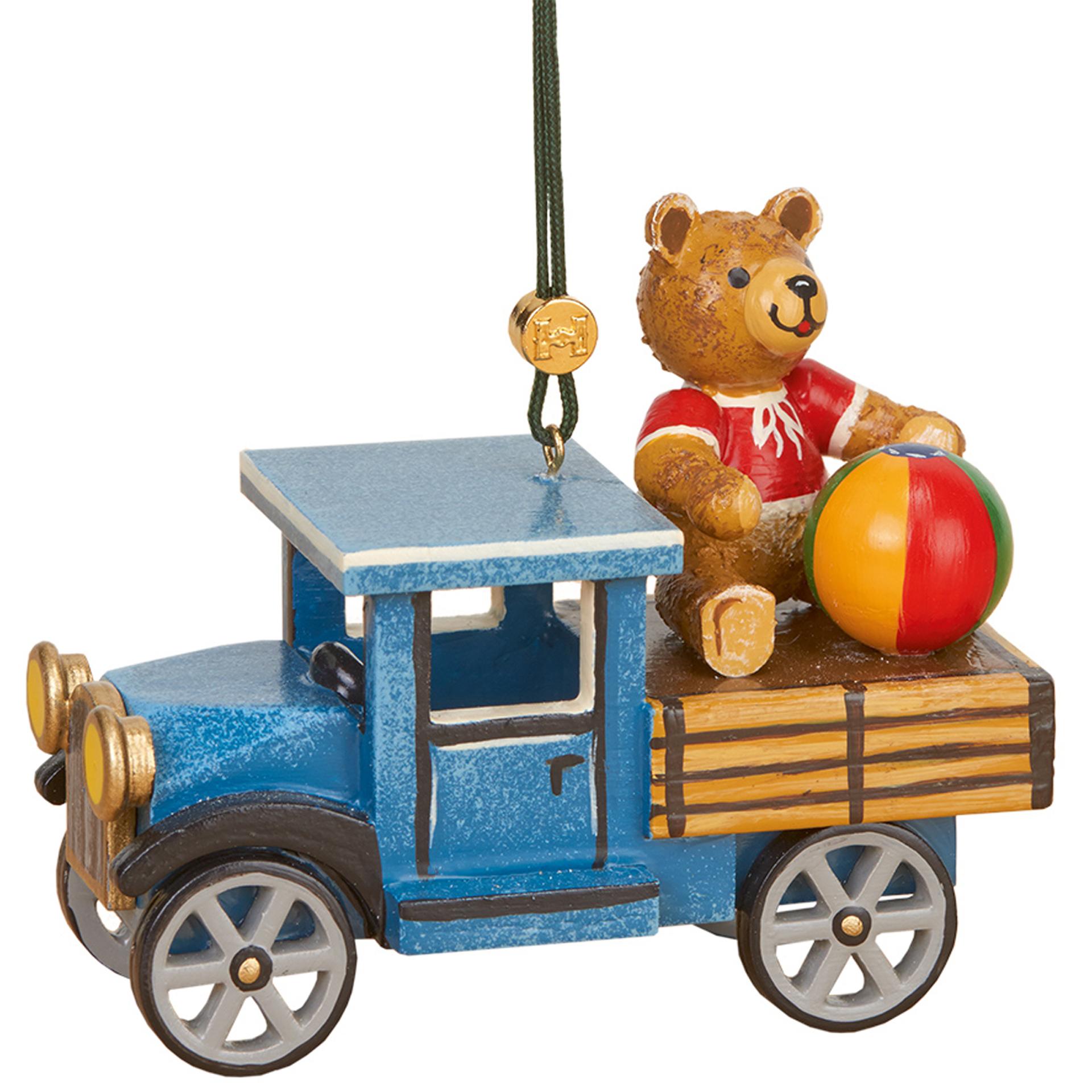 Baumschmuck LKW mit Teddy