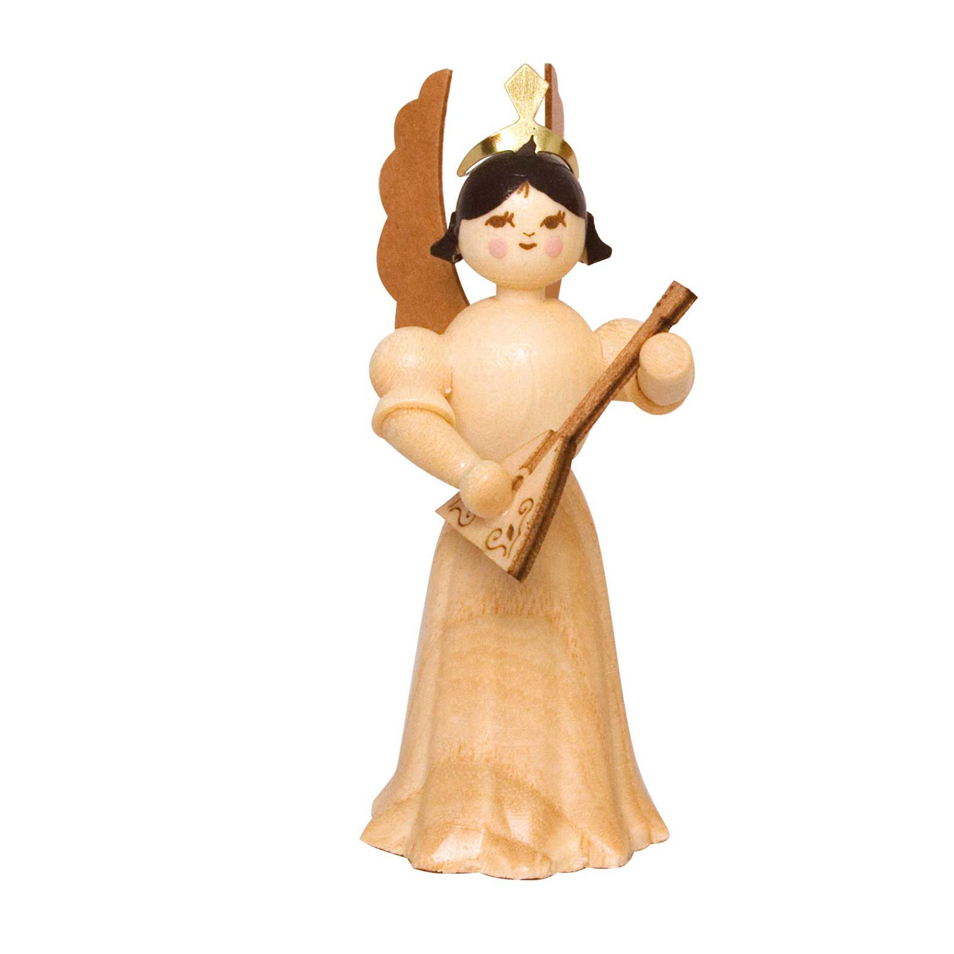 Engel mit Balalaika, 7cm