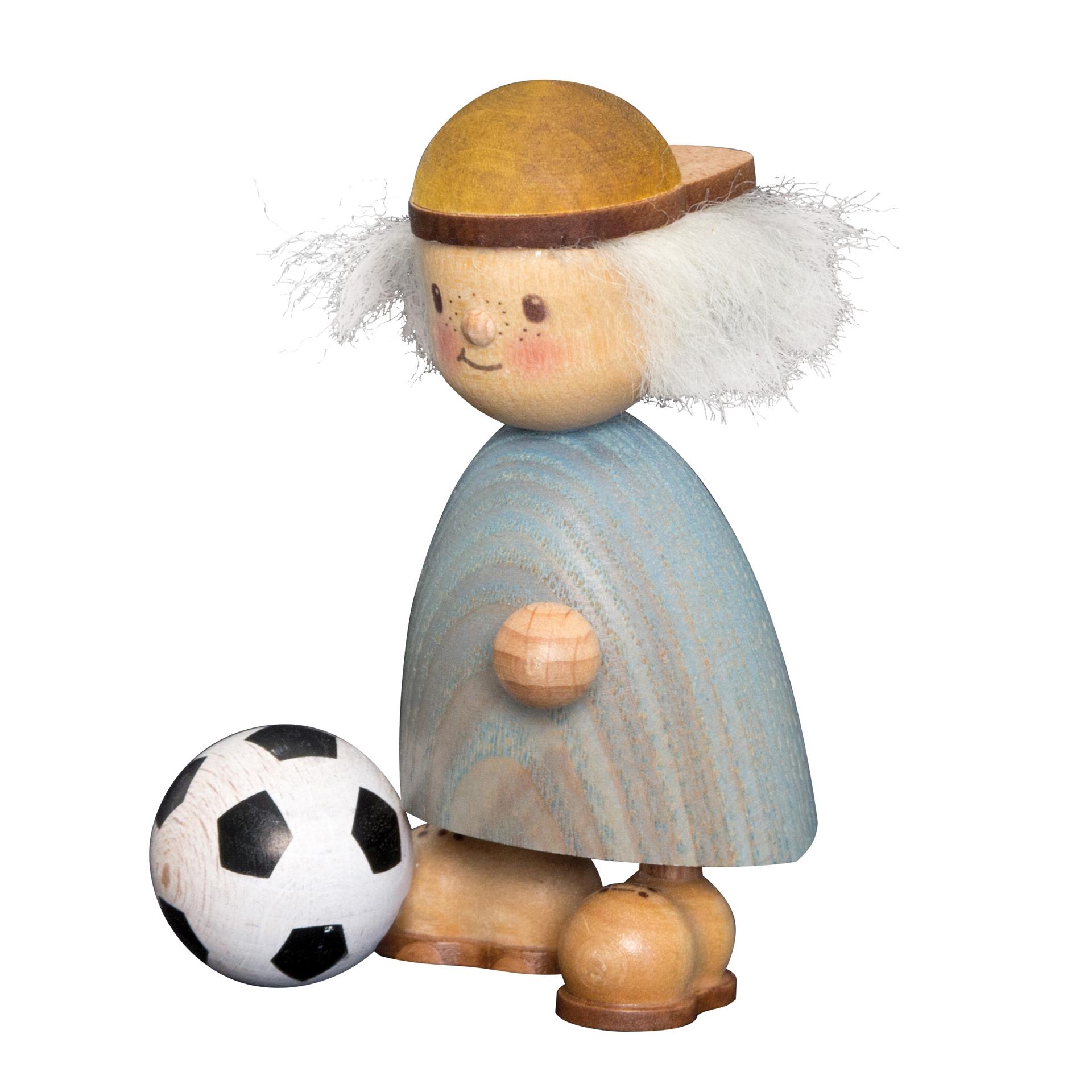 Finn mit Fußball