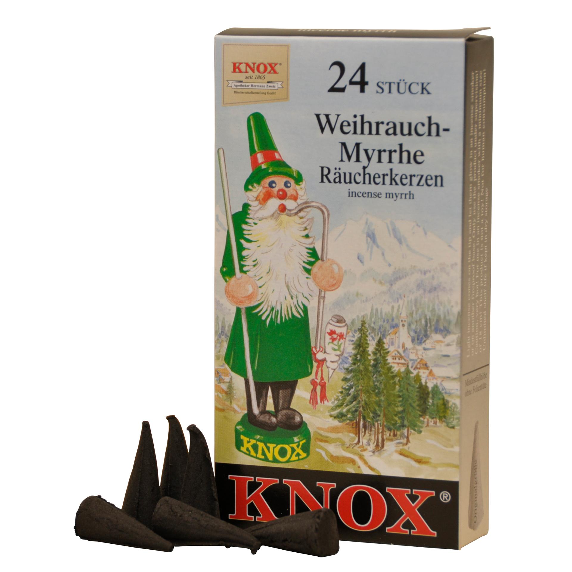 Knox Räucherkerzen Weihrauch