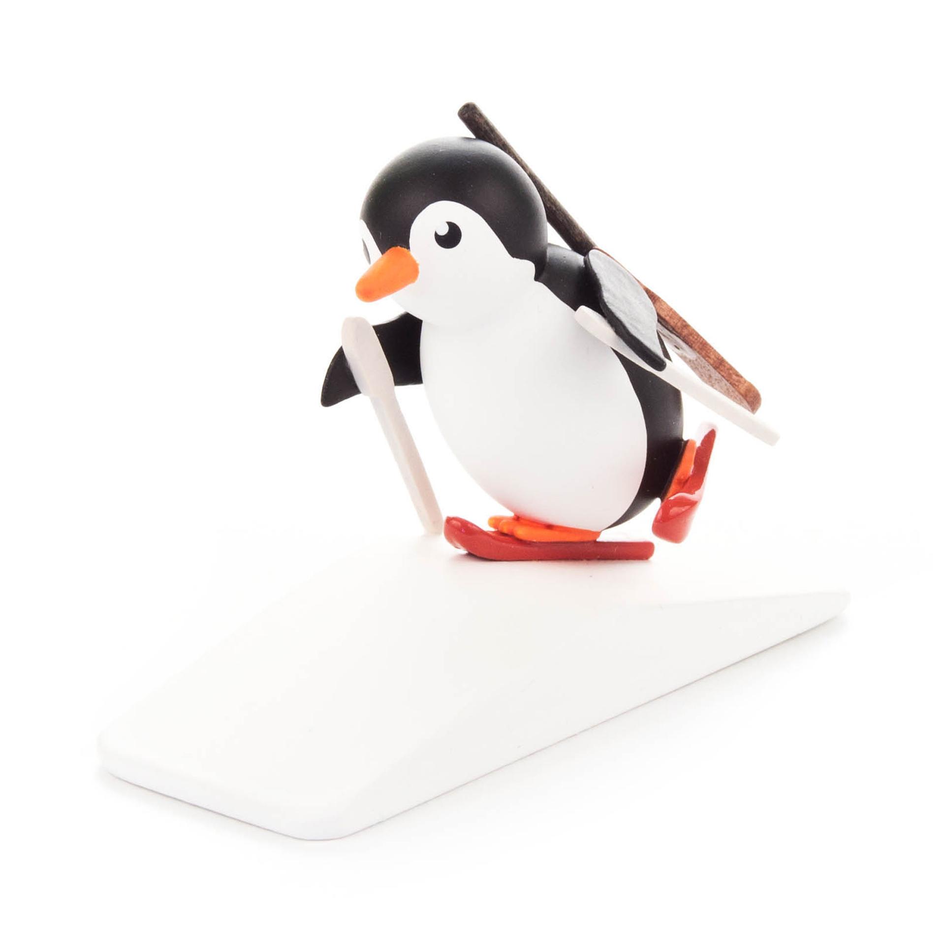 Pinguin Biathlet