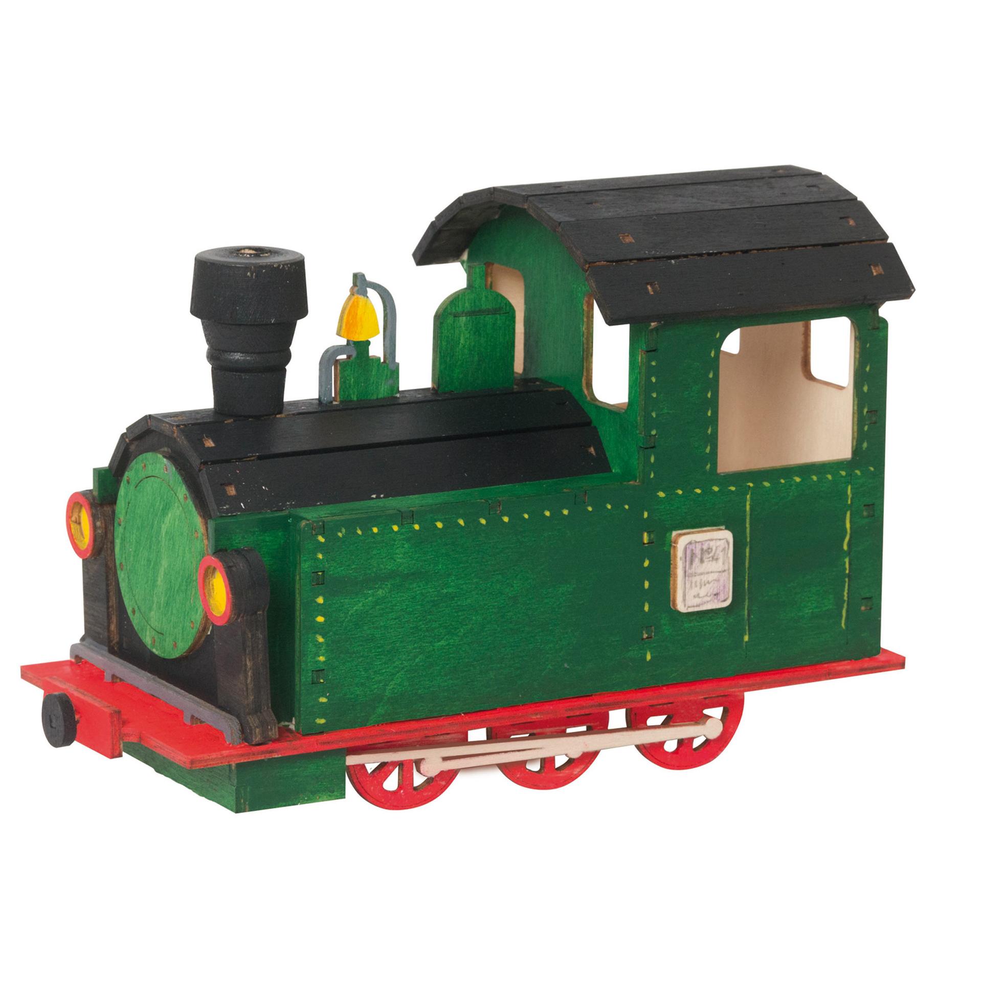 Bastelset Rauchfigur Lokomotive