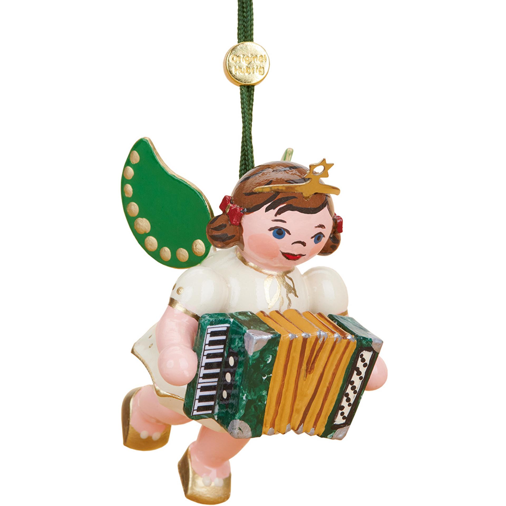 Baumschmuck Engel mit Akkordeon