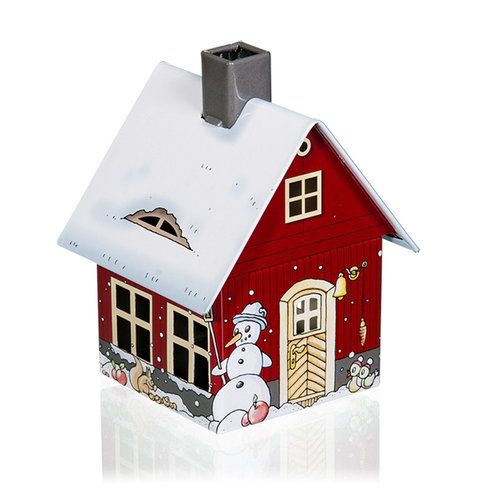Rauchhaus Metall Wintermotiv