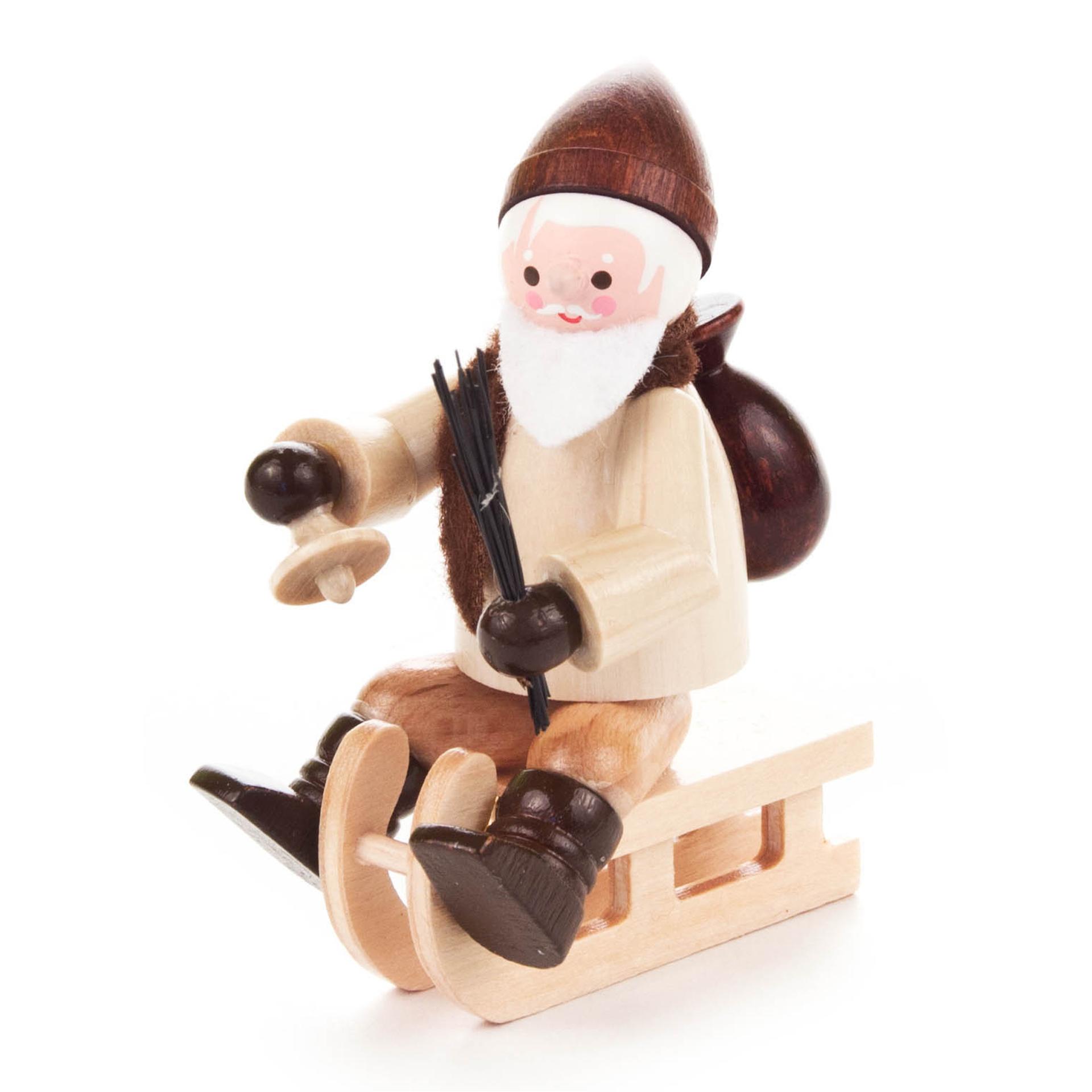 Nikolaus auf Schlitten